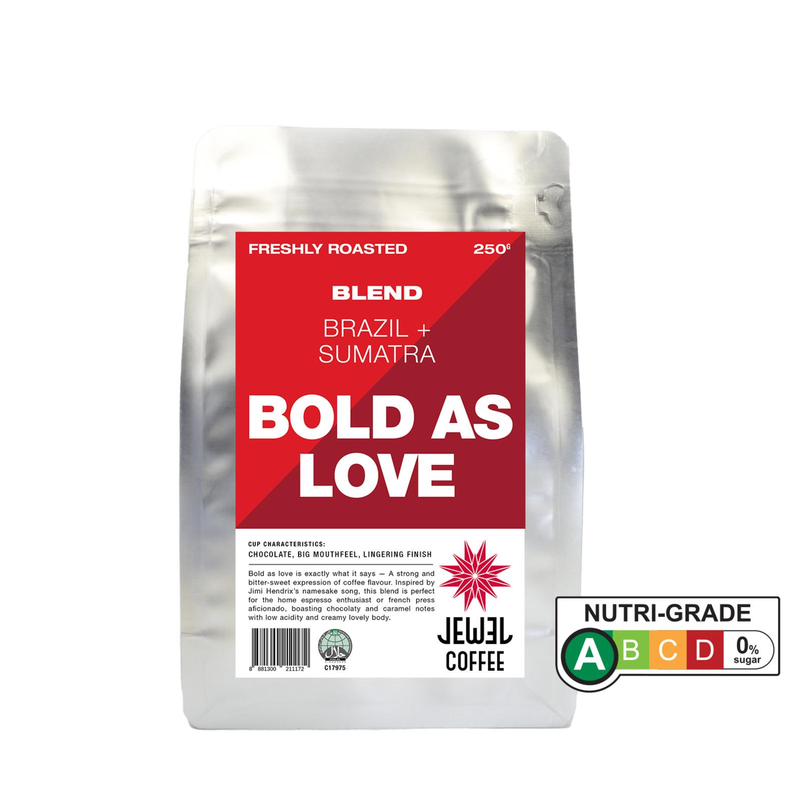 Jewel Coffee Bold As Love - Ground Coffee