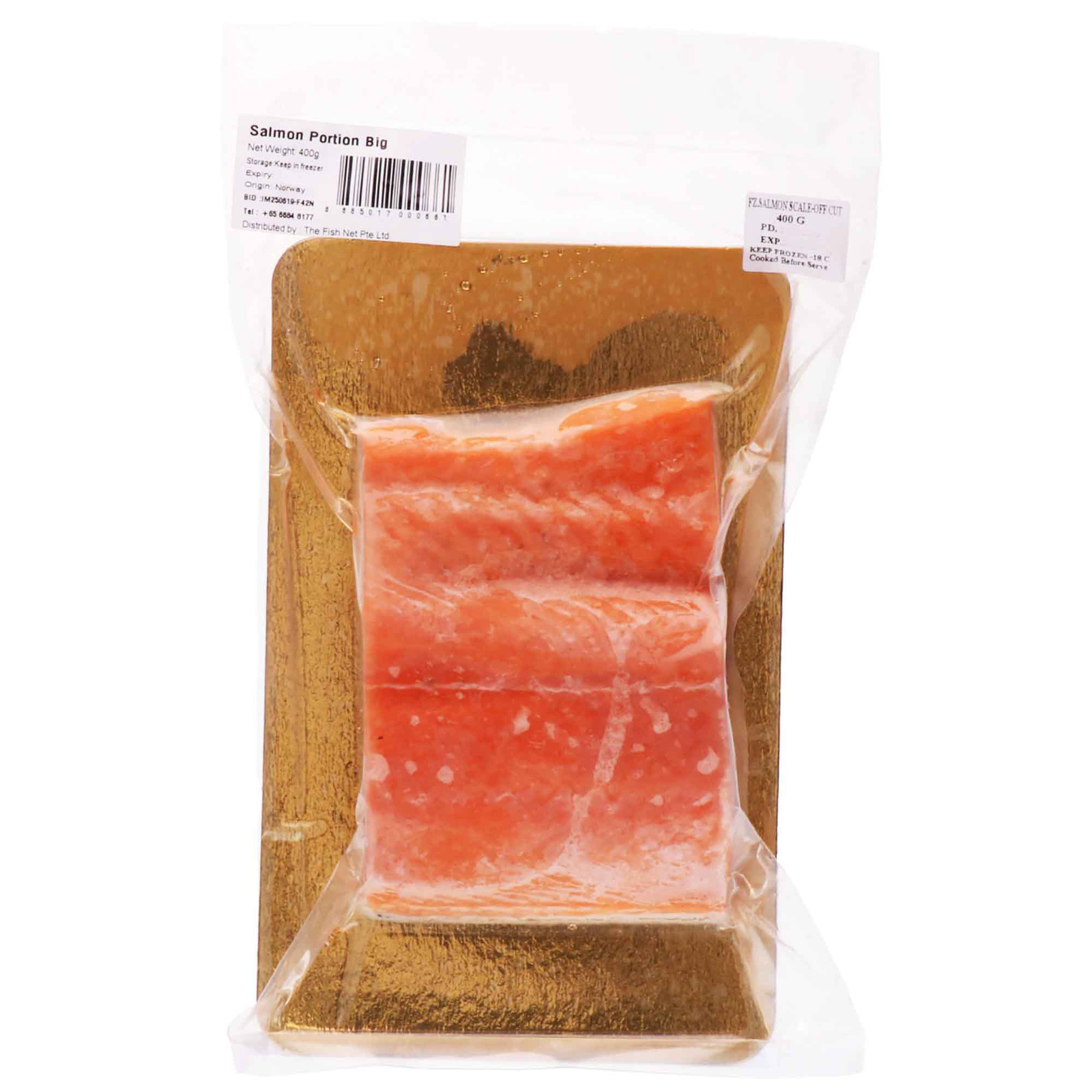 Catch Seafood - Salmon Portion Family Cut (Frozen)
