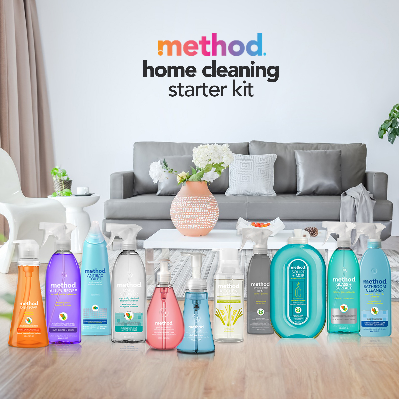 Method CNY Home-Cleaning Starter Kit