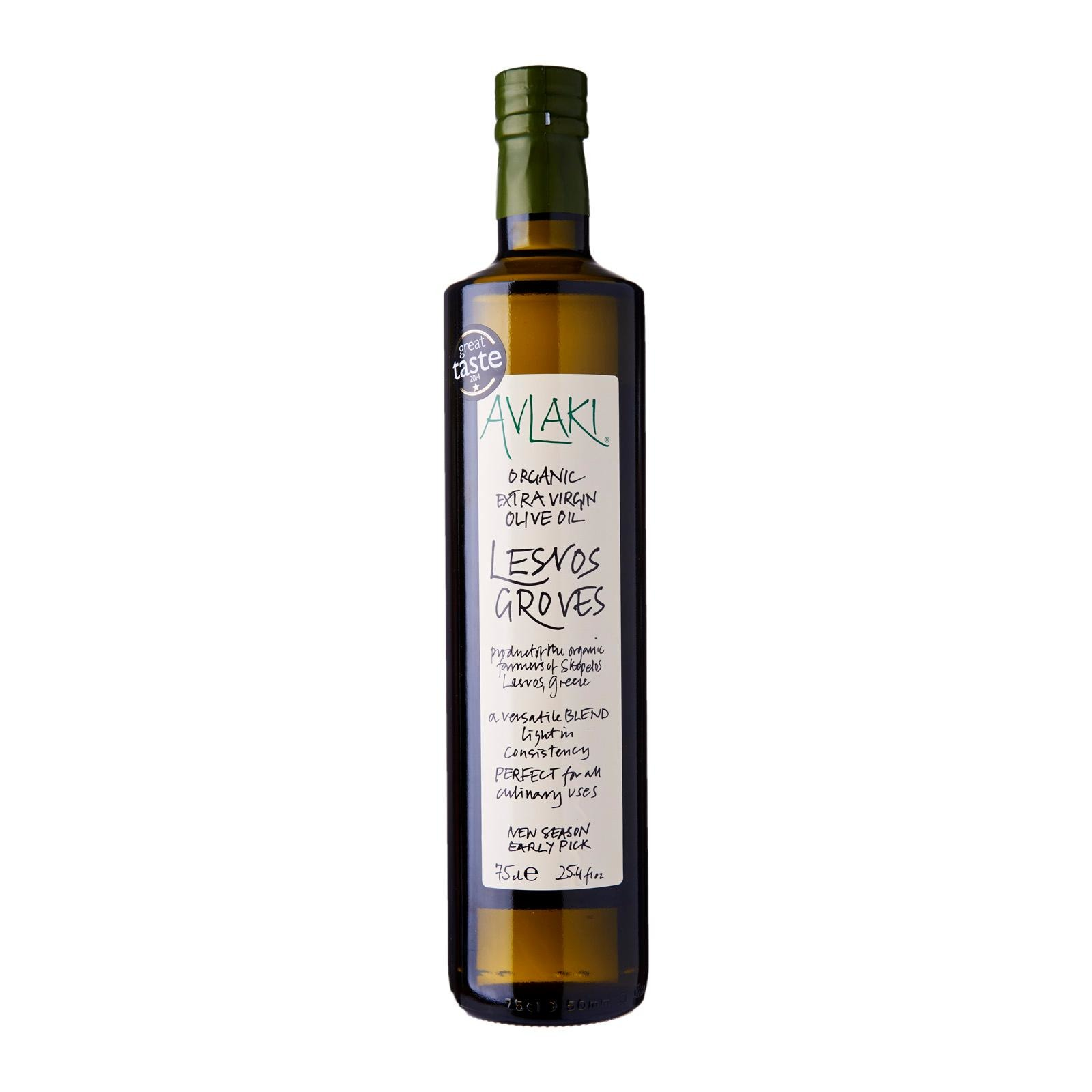 Avlaki Lesvos Groves Extra Virgin Organic Olive Oil
