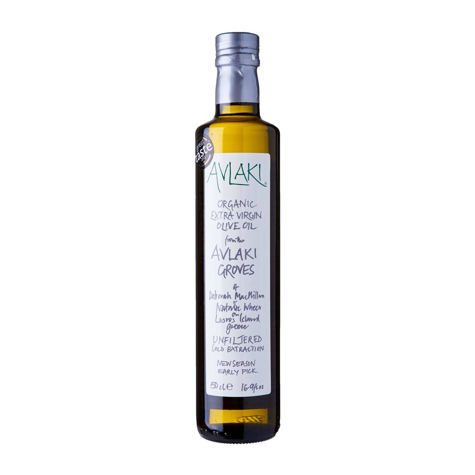 Avlaki Groves Extra Virgin Organic Olive Oil