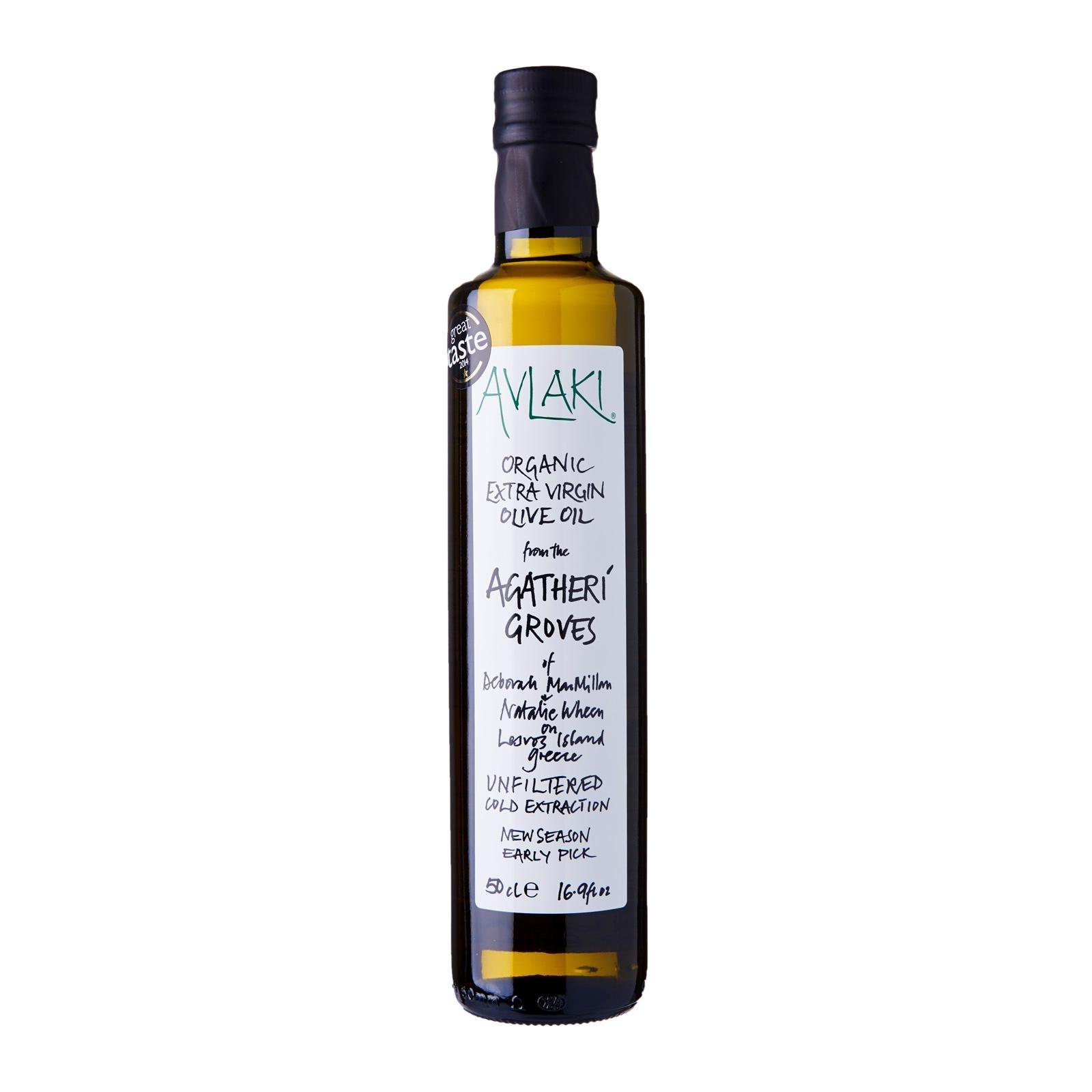 Avlaki Agatheri Groves Extra Virgin Organic Olive Oil