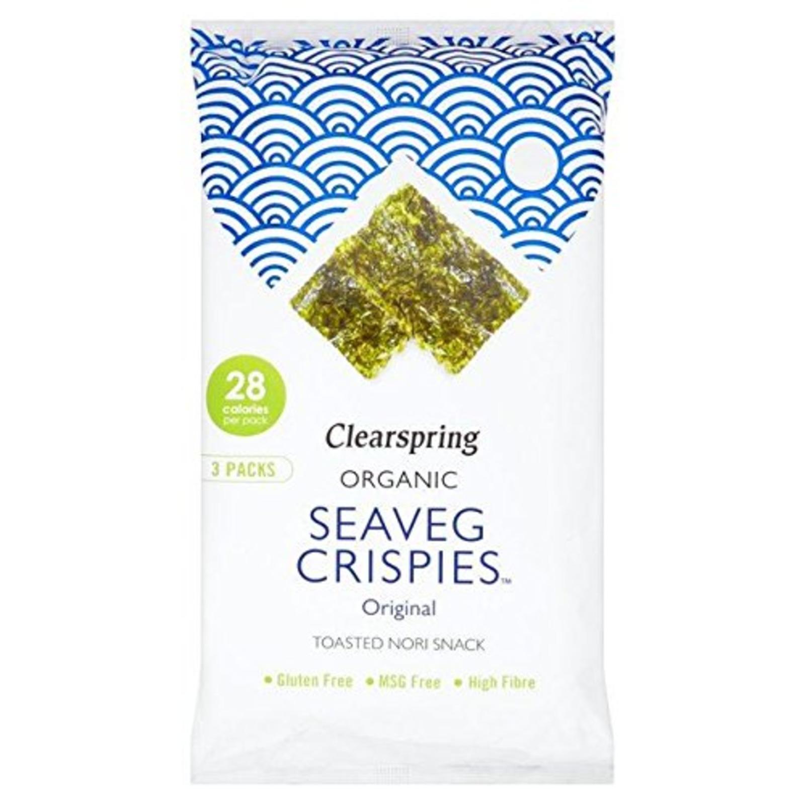 Clearspring Seaveg Crispies Multi Pack