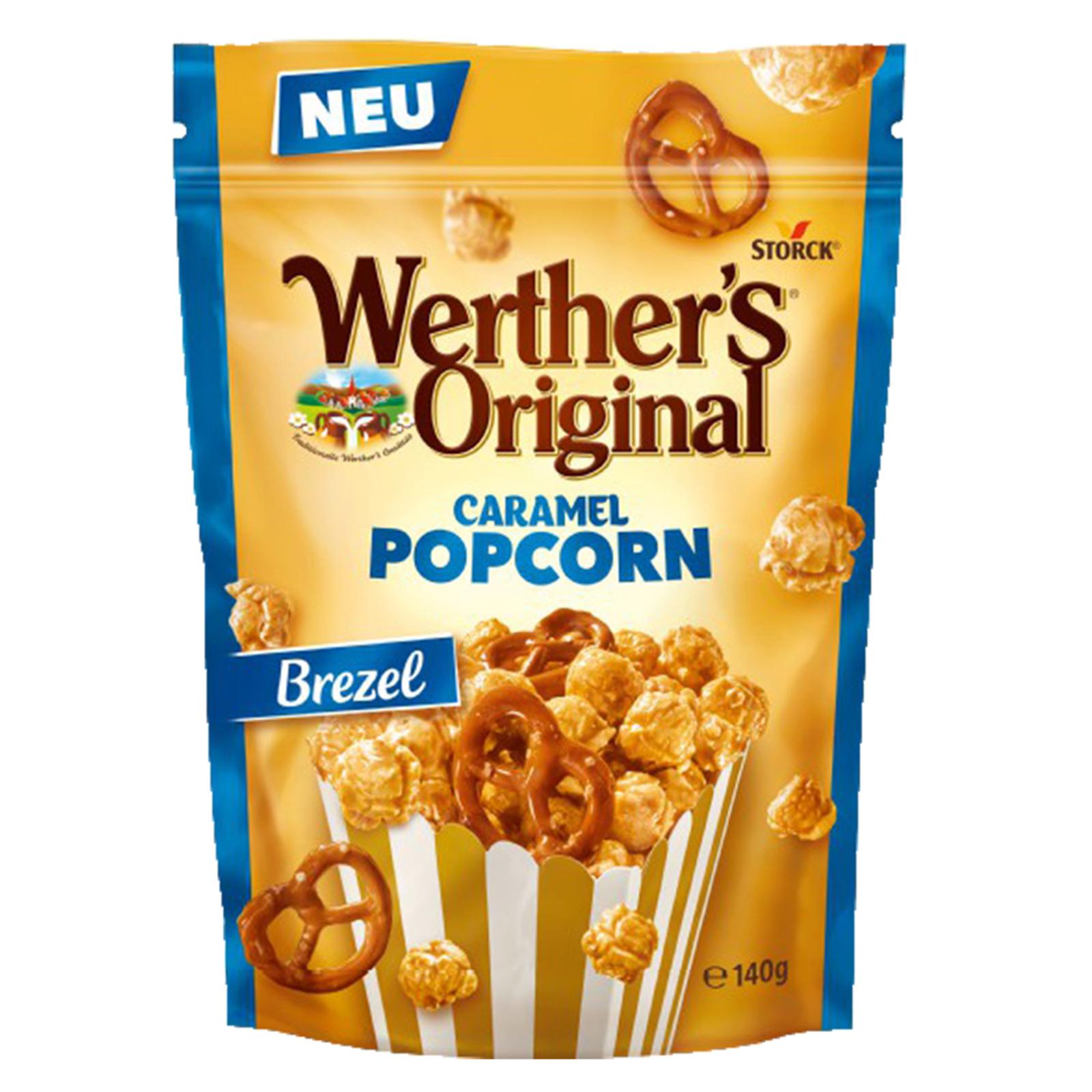 Werther's Popcorn Sea Salt & Pretzel 140g
