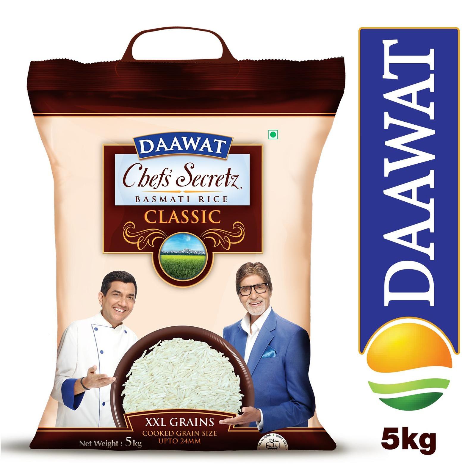 Daawat Chef's Secretz Classic Basmati Rice - By Sonnamera