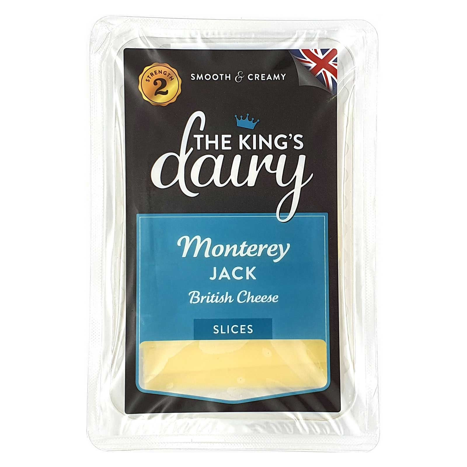 The King's Dairy Monterey Jack Slices