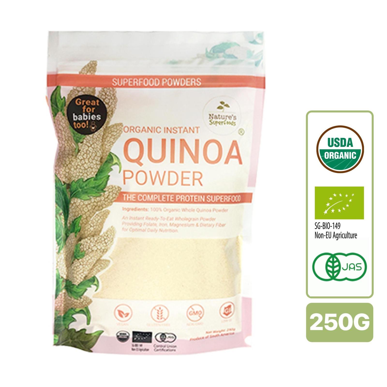 Nature's Superfoods Instant Organic Quinoa Powder