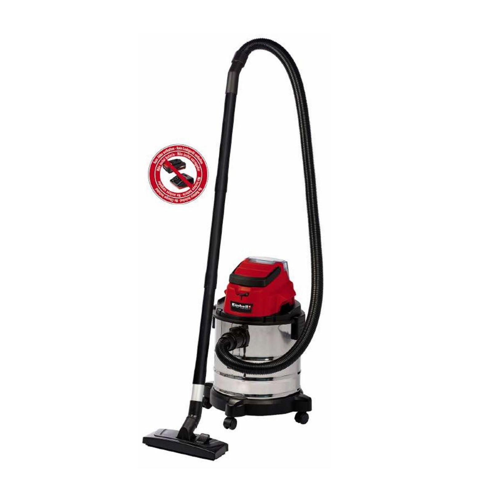 Einhell PXC Cordless Wet/Dry Vacuum Cleaner (20L)