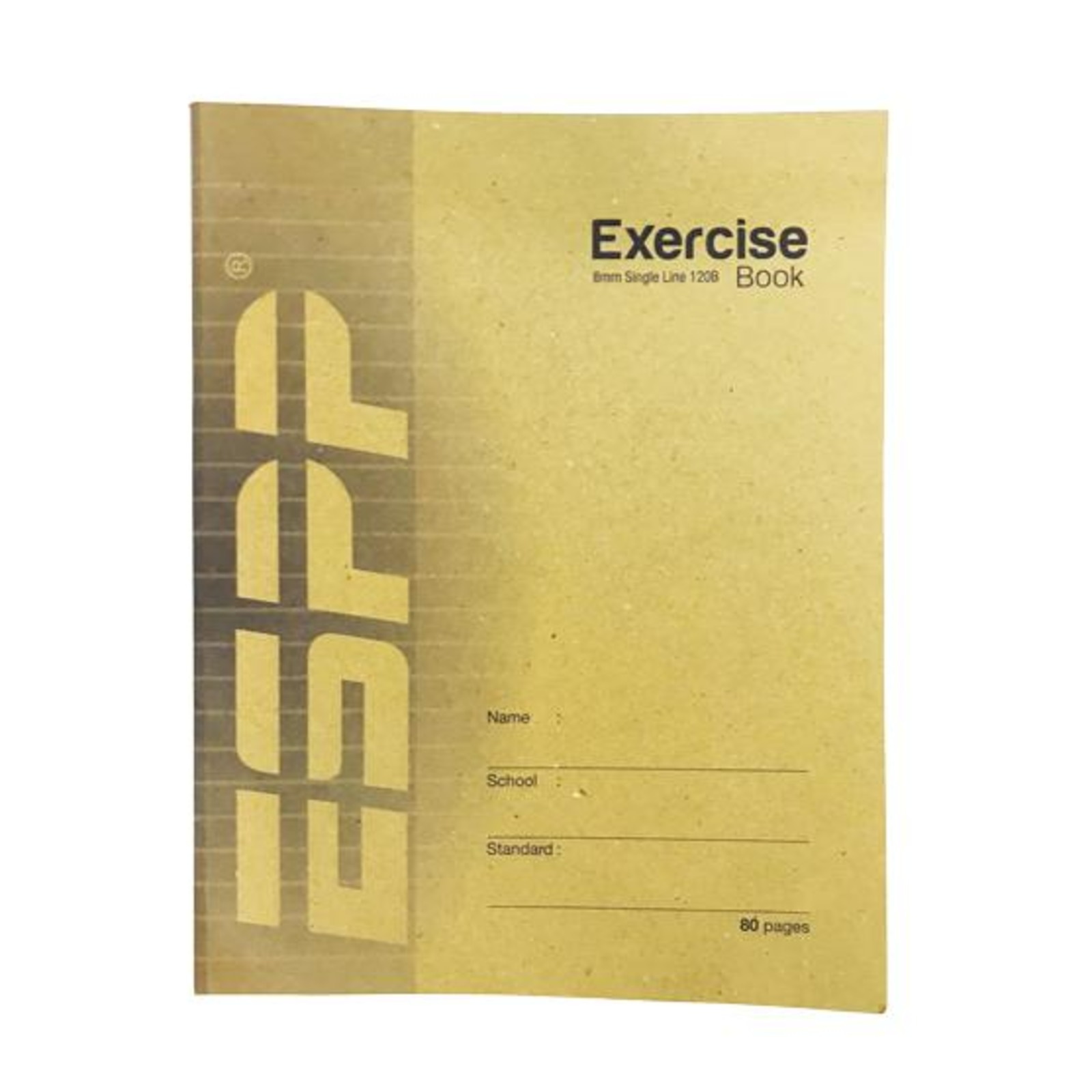 F5 Soft Exercise Book Single Line 8mm 120B