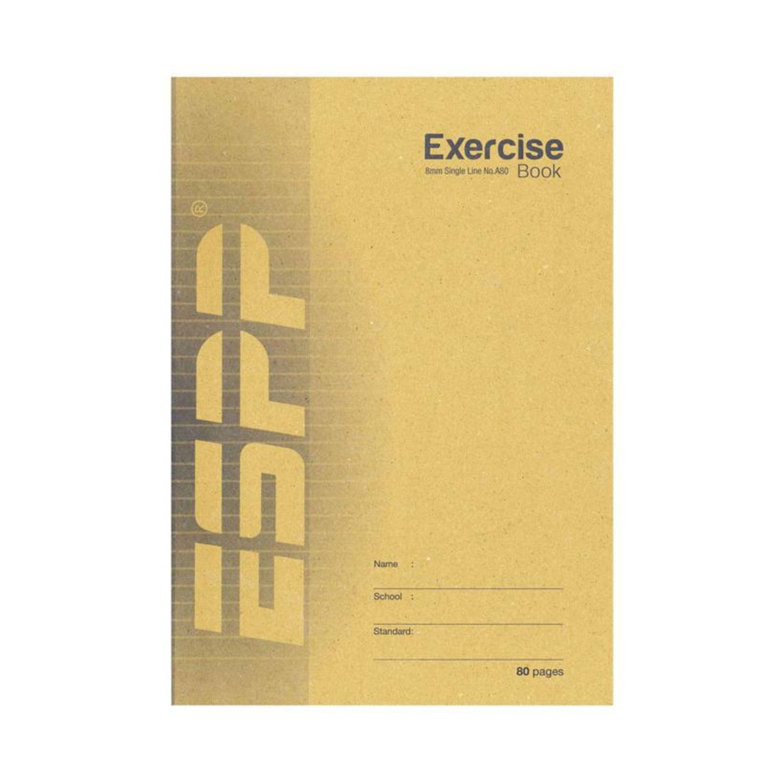 A4 Soft Exercise Book Single Line A80