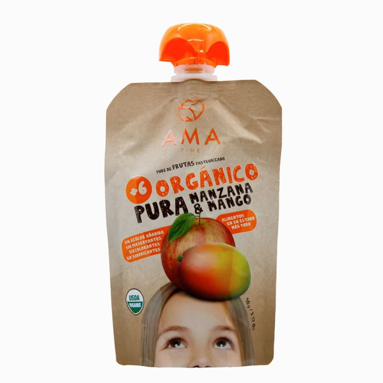 Ama Fruit Pouch - Organic Apple & Mango Puree