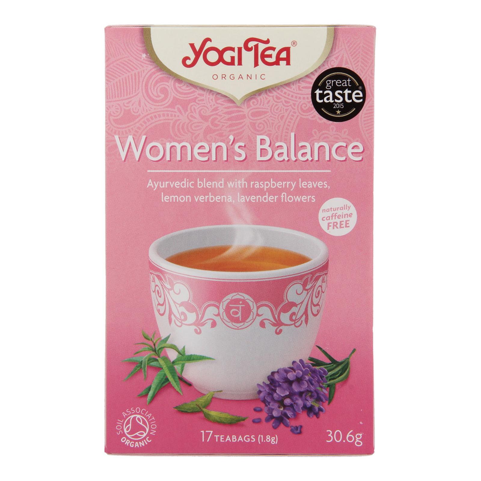 Yogi Organic Womans Balance - 17 Tea Bag