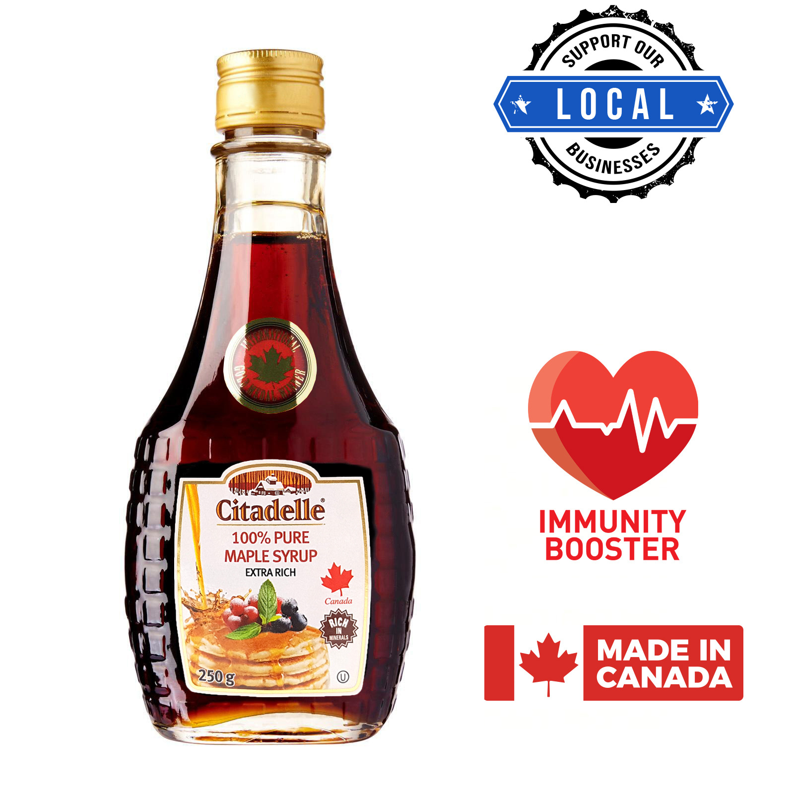 Citadelle - 100% Pure Canadian Maple Syrup