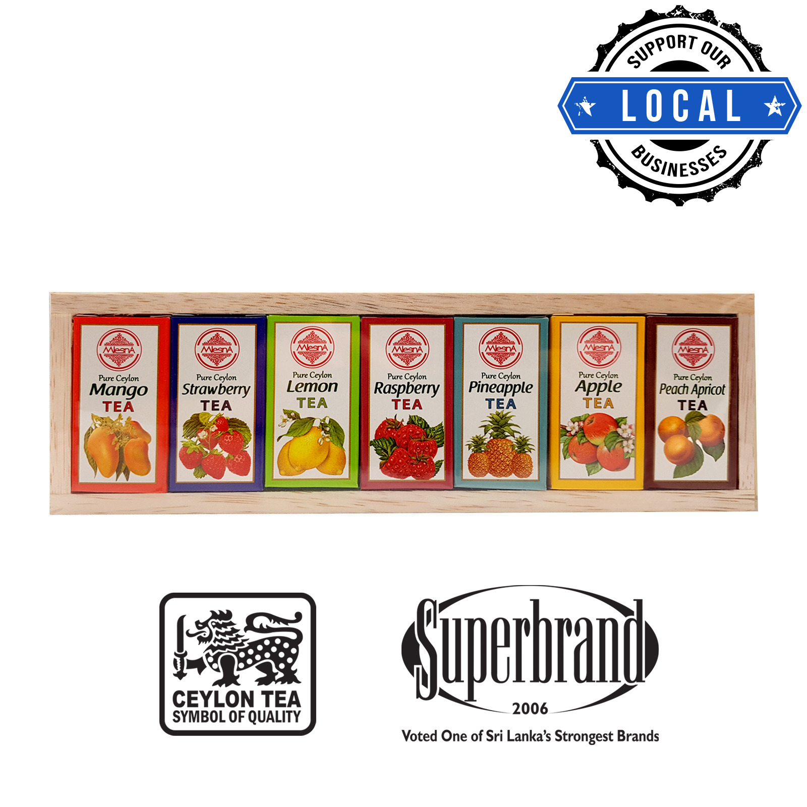 Mlesna Tea Gift Box - Celestial Fruit Tea Selection Assorted