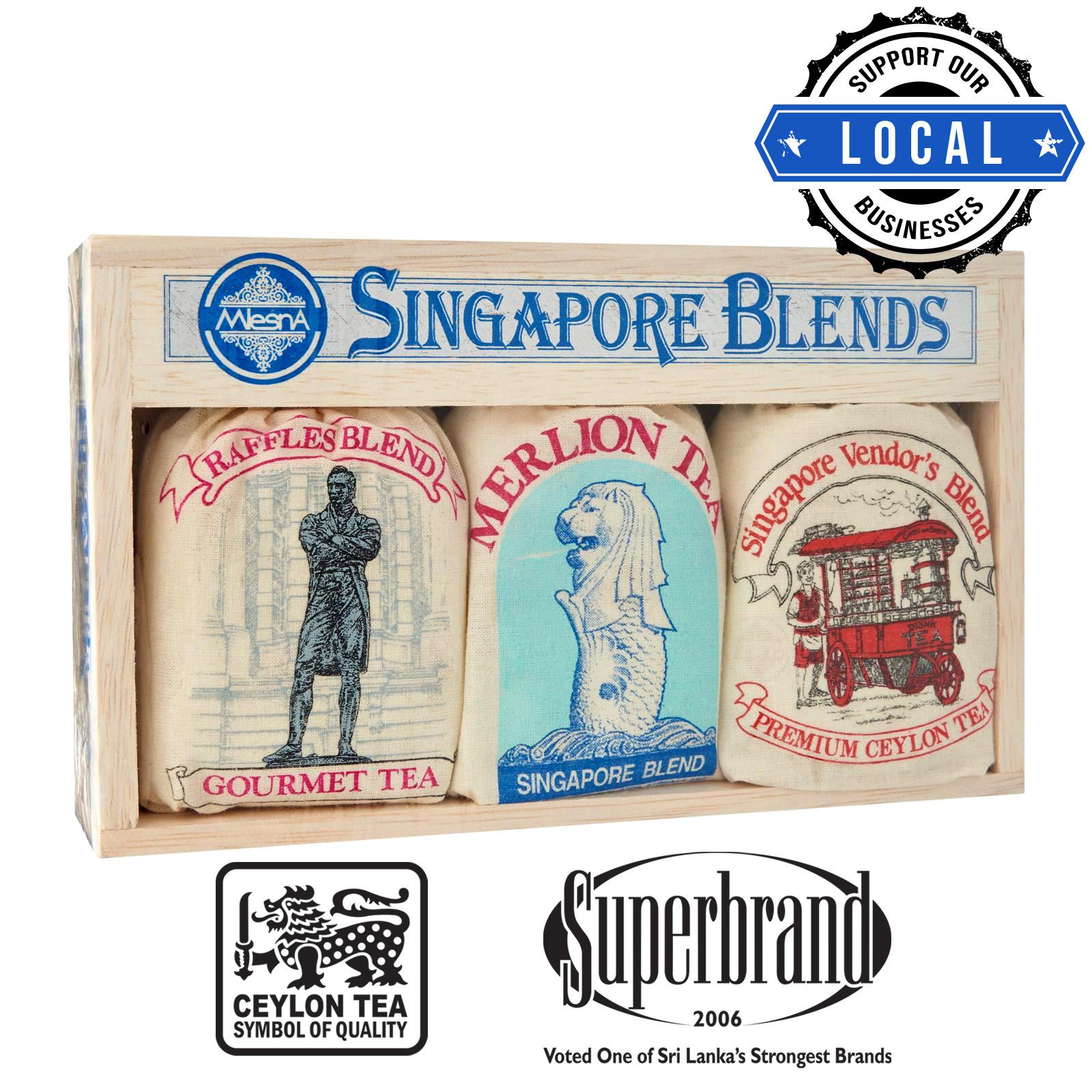 Mlesna Tea Gift Box - Singapore Blends Raffles Assorted