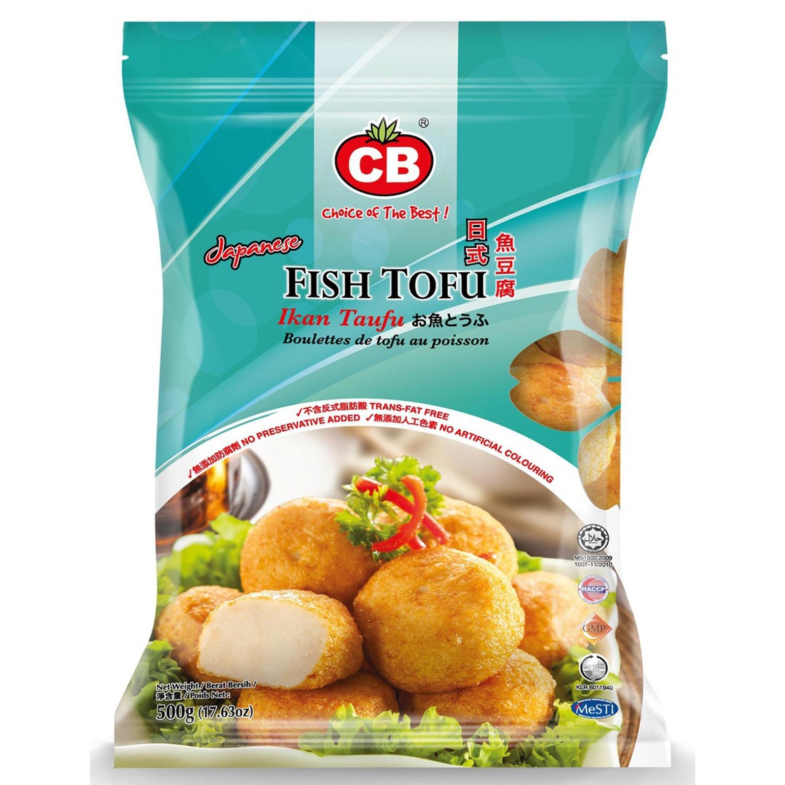 CB Japanese Fish Tofu 23Pcs