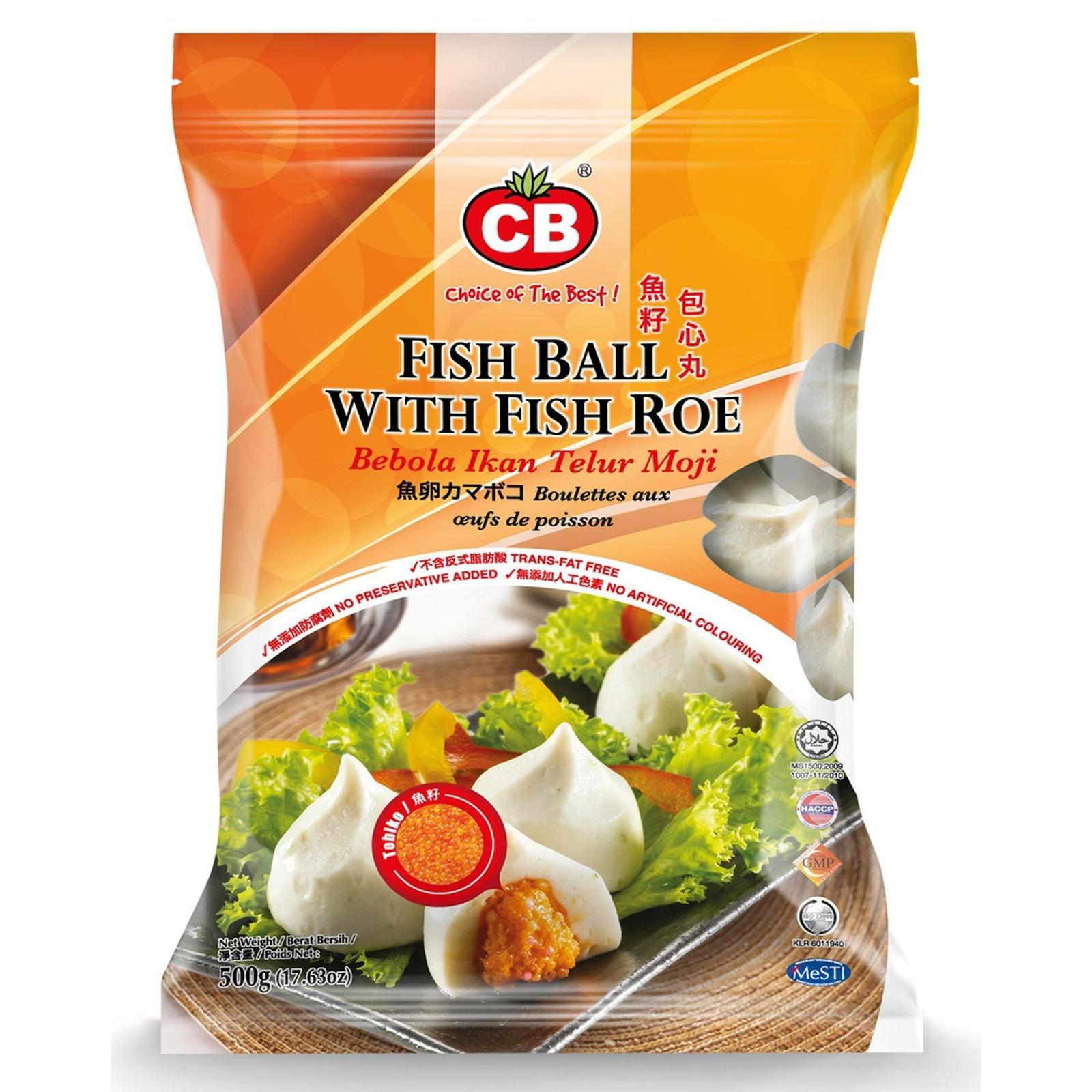 CB Fish Ball With Fish Roe 19Pcs