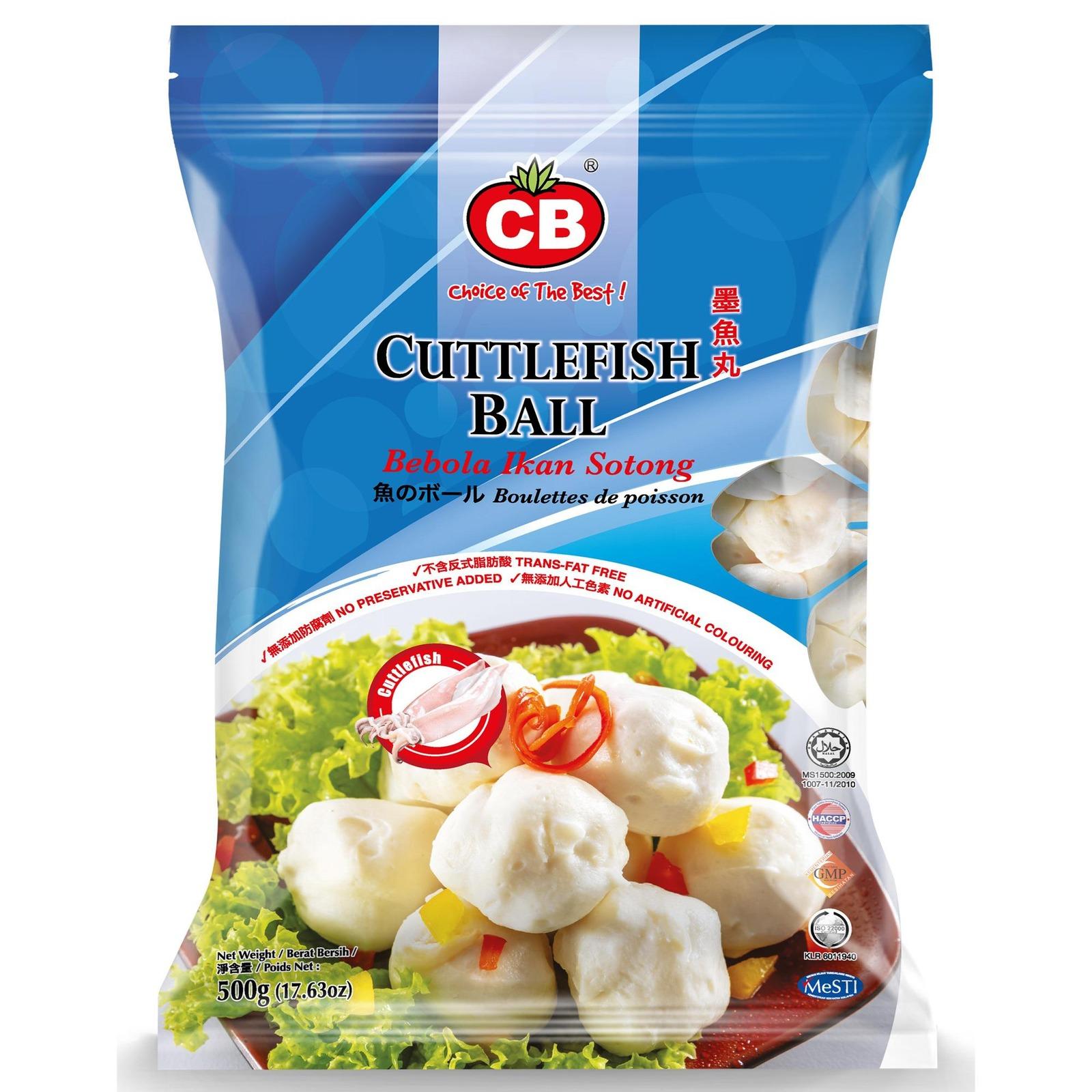 CB Cuttlefish Ball 23Pcs
