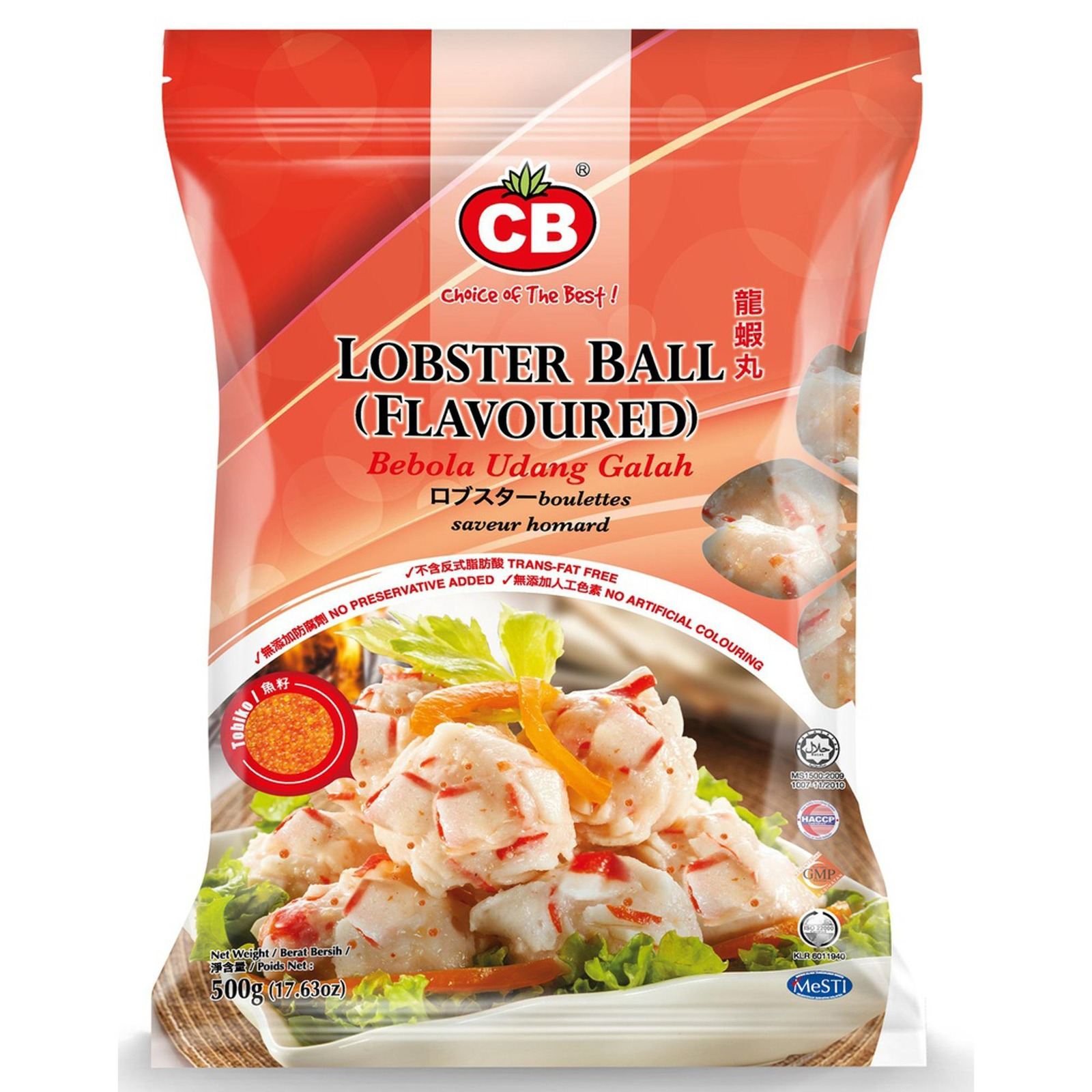 CB Lobster Ball (Flavoured) 19Pcs