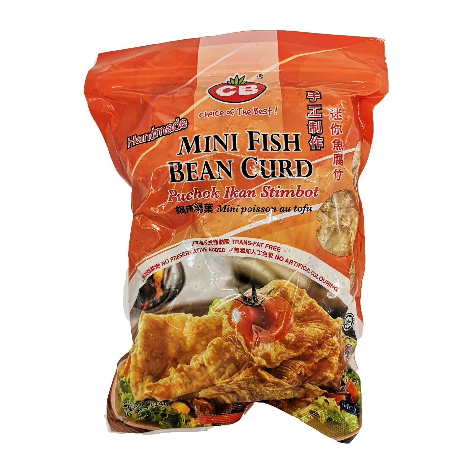 CB Steamboat Fish Bean Curd 30Pcs