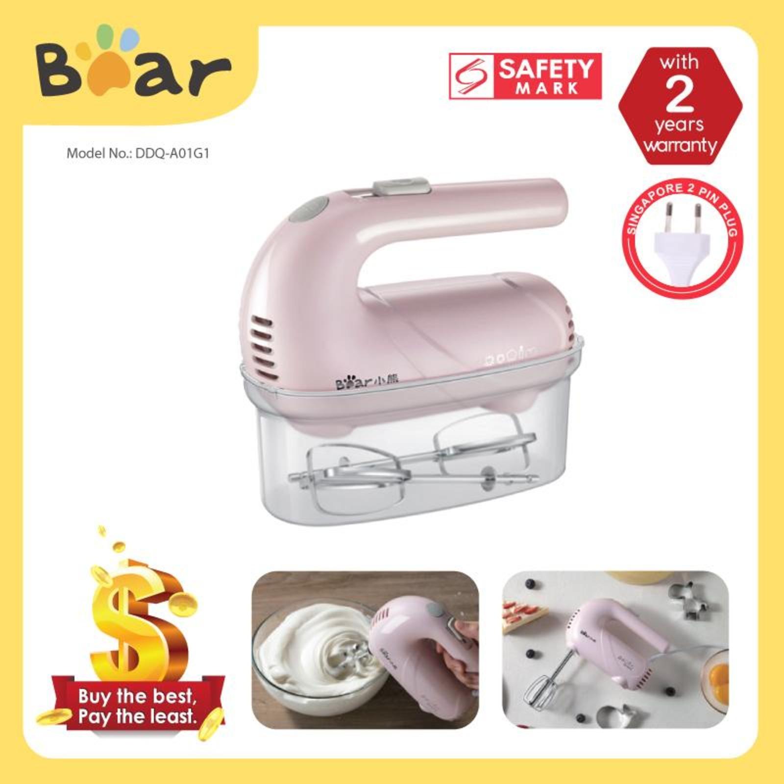 Bear Hand Mixer - 5 Speeds DDQ-A01G1