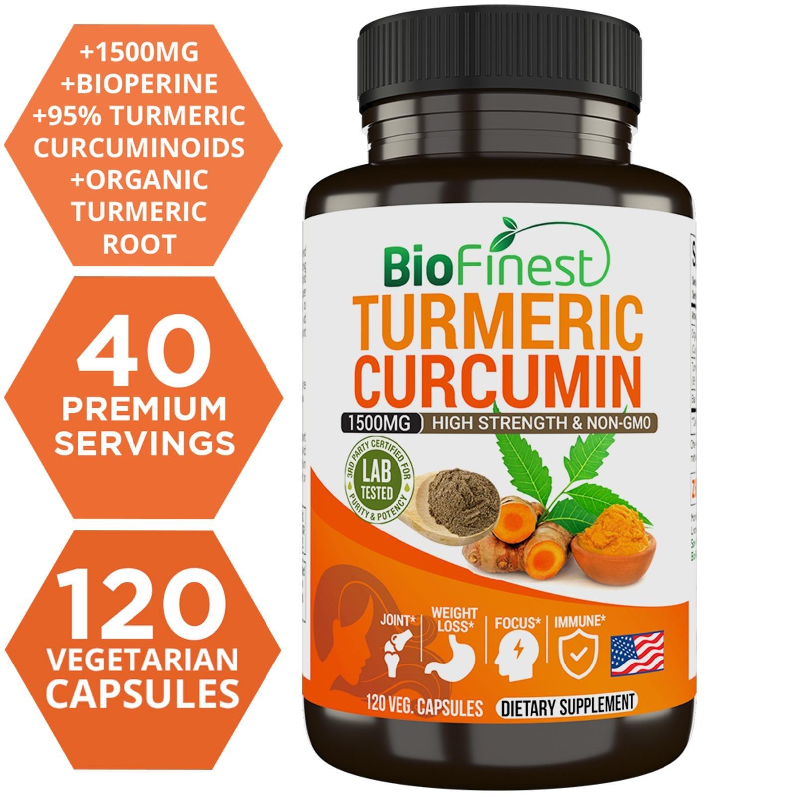 Biofinest Turmeric Curcumin Supplement
