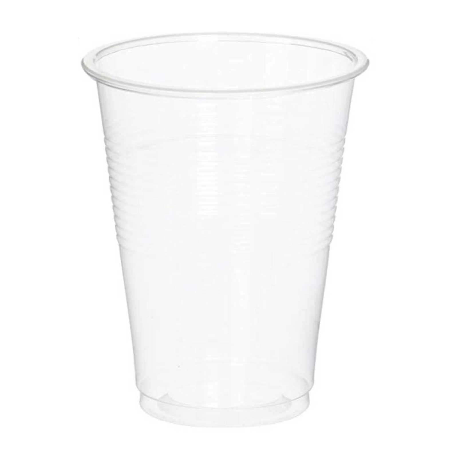 MTRADE Disposable 7 Oz Clear Plastic Cups