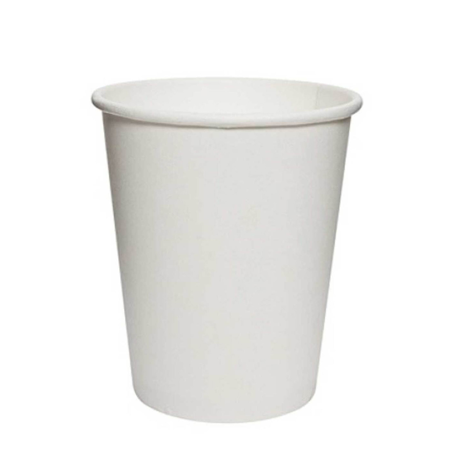 MTRADE Disposable 7 Oz White Paper Cups