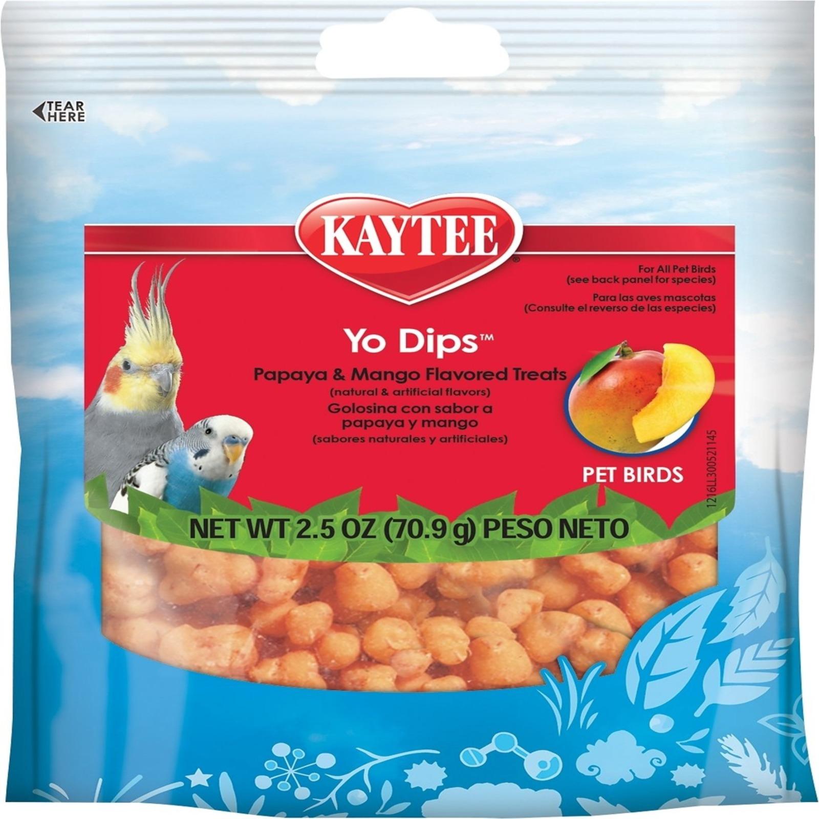 Kaytee Fiesta Yogurt Dip Mango/Papaya 2.5oz
