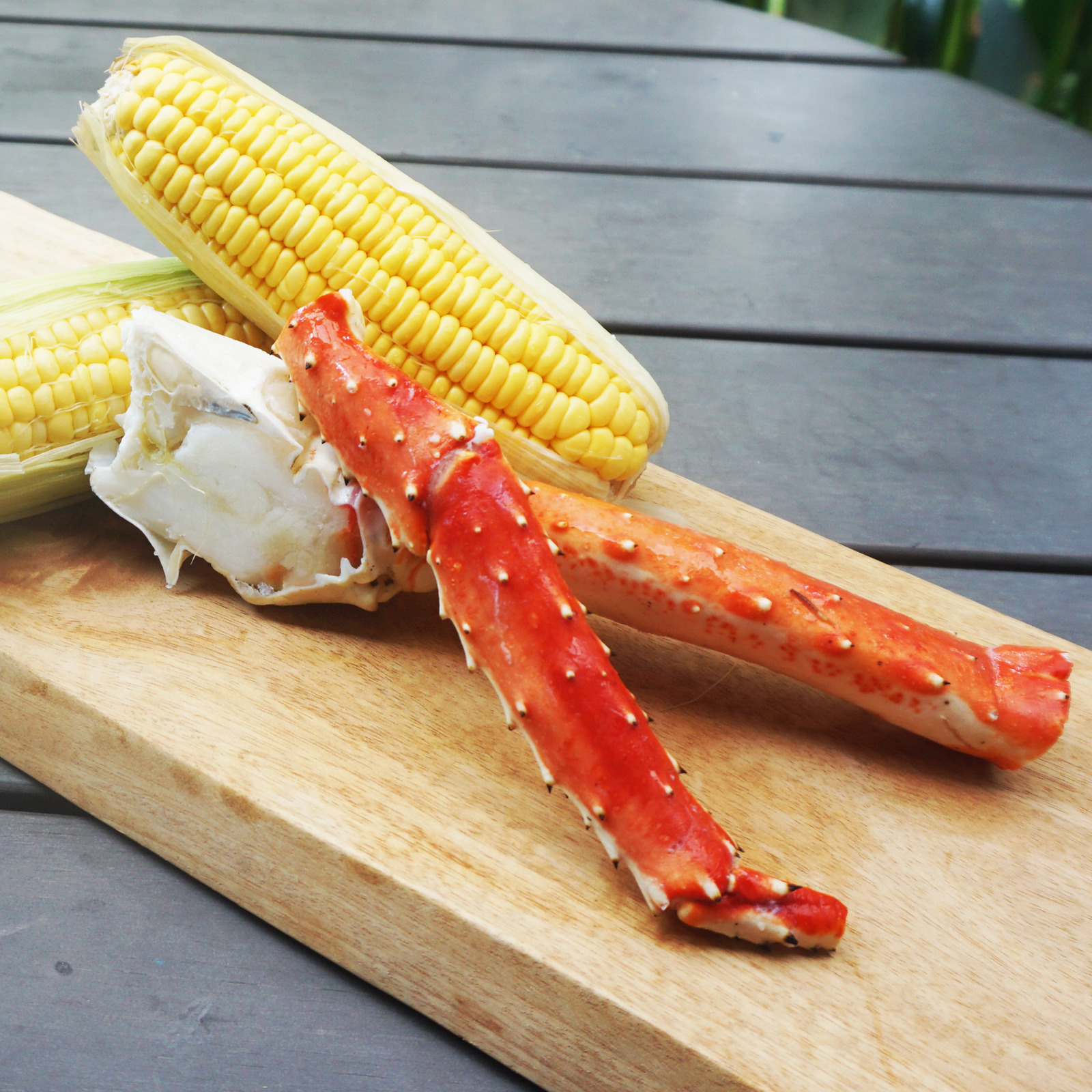Catch Seafood Alaskan Cooked King Crab
