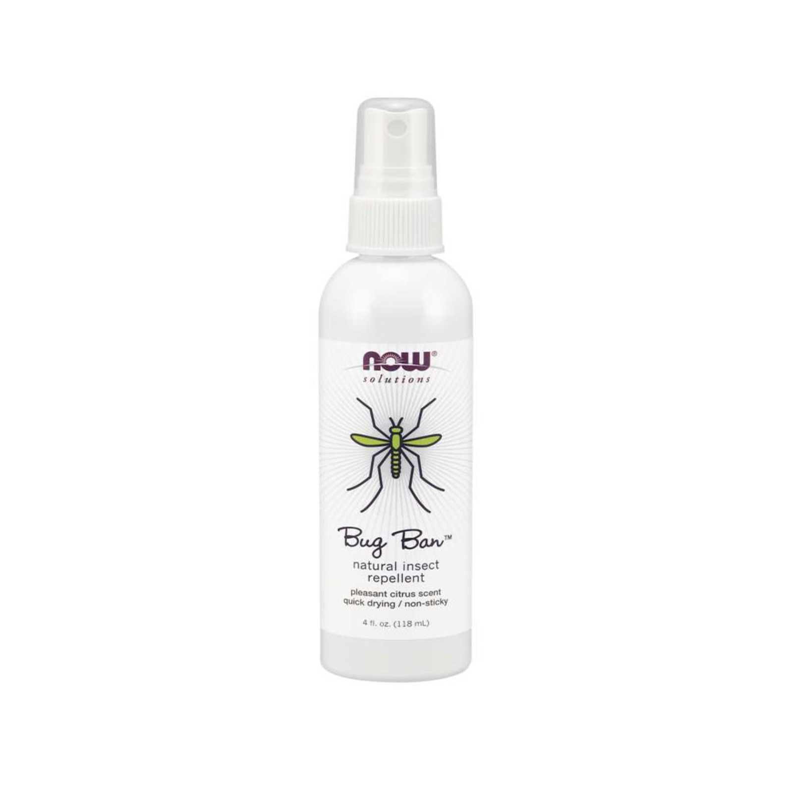 Now Foods Bug Ban Natural Insect Repellent