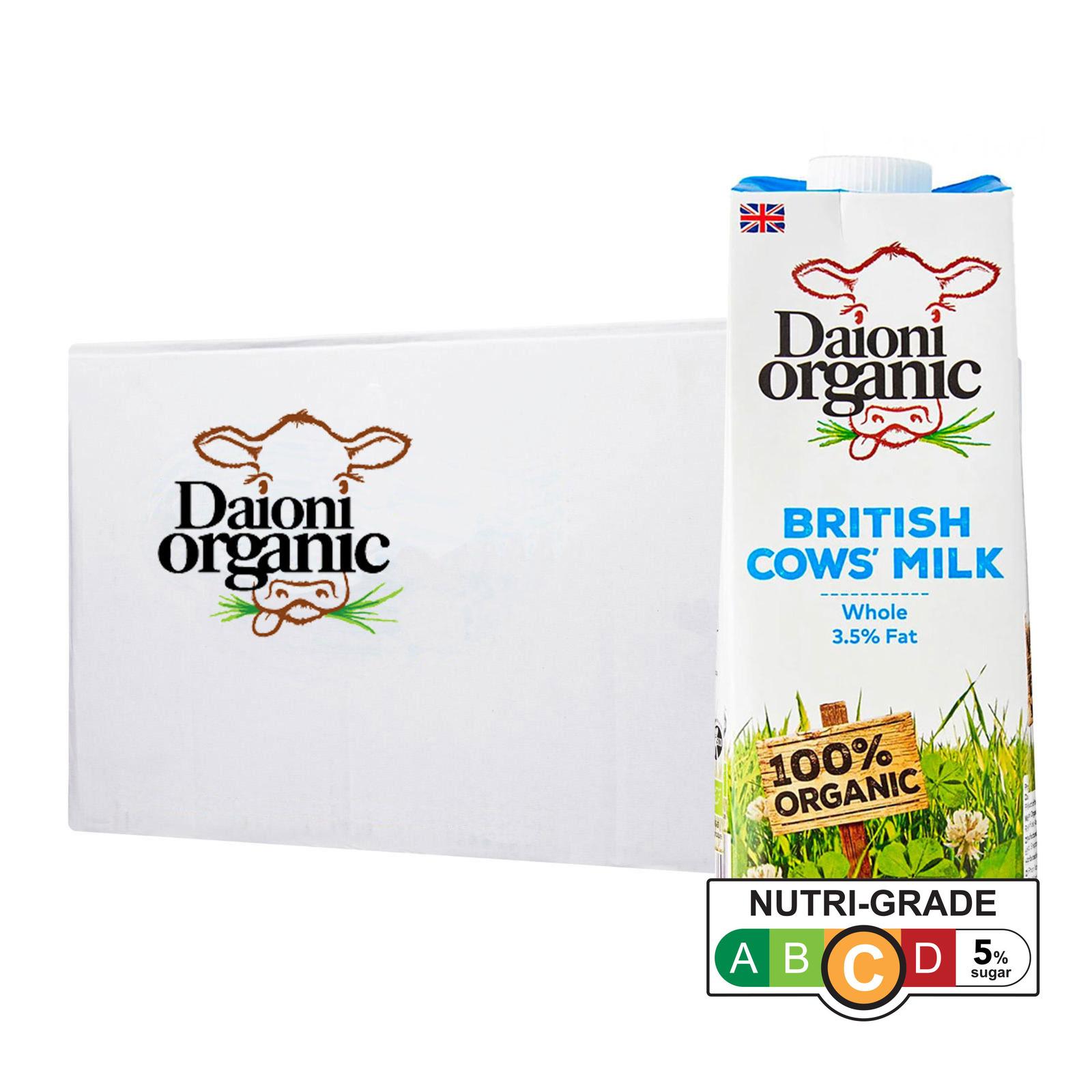 Daioni Organic Whole UHT Milk