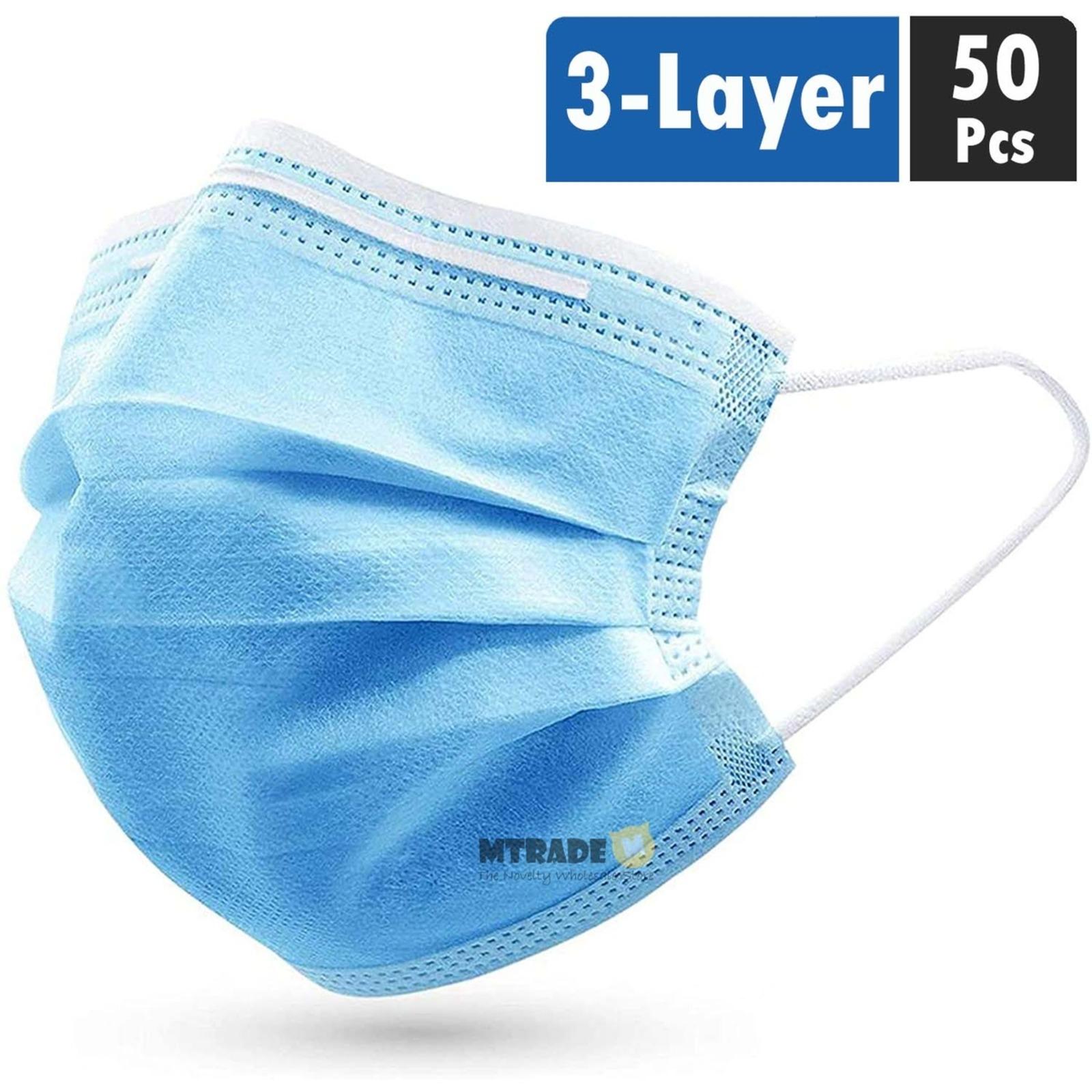 MTRADE 3-Layer Disposable Face Mask