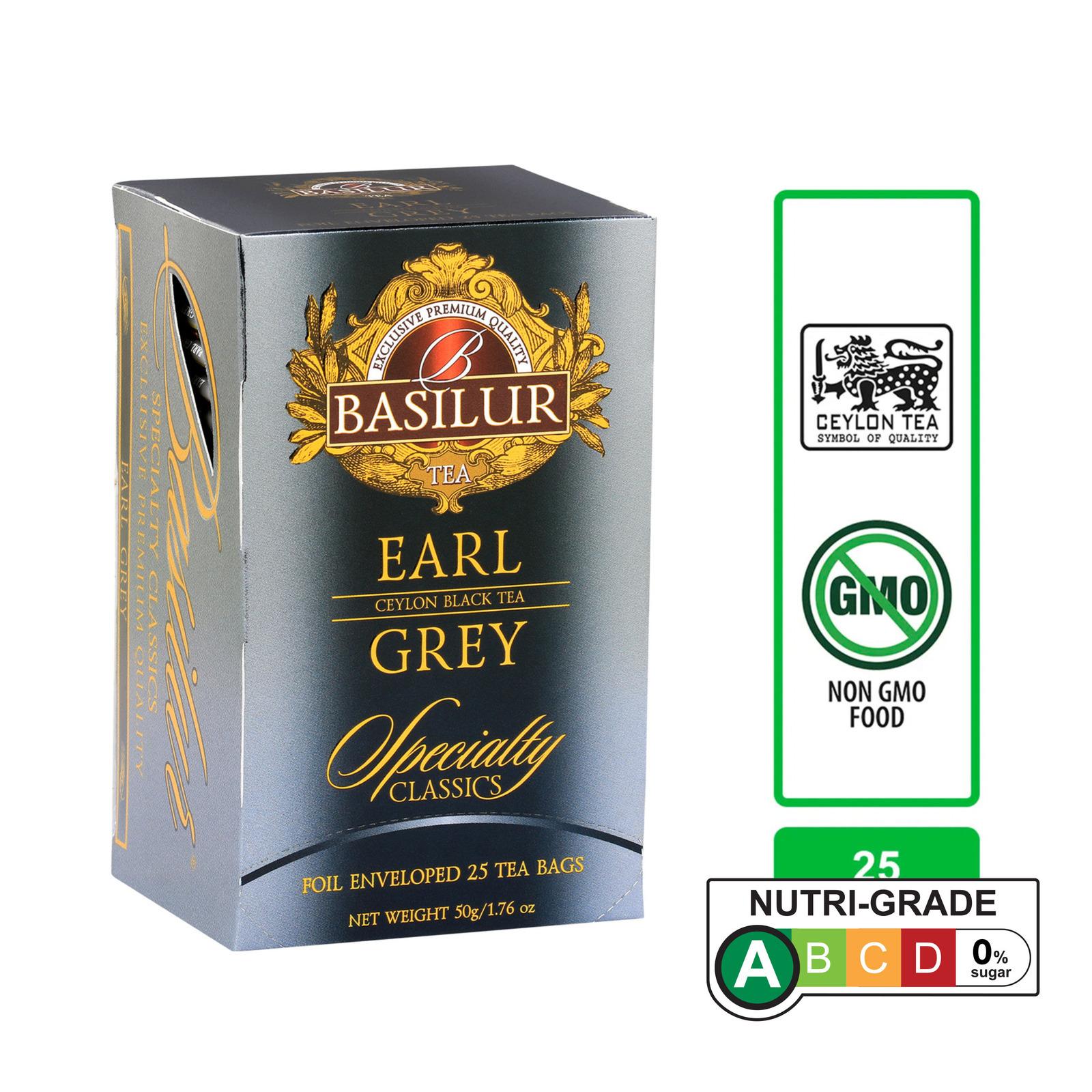Basilur Earl Grey Tea