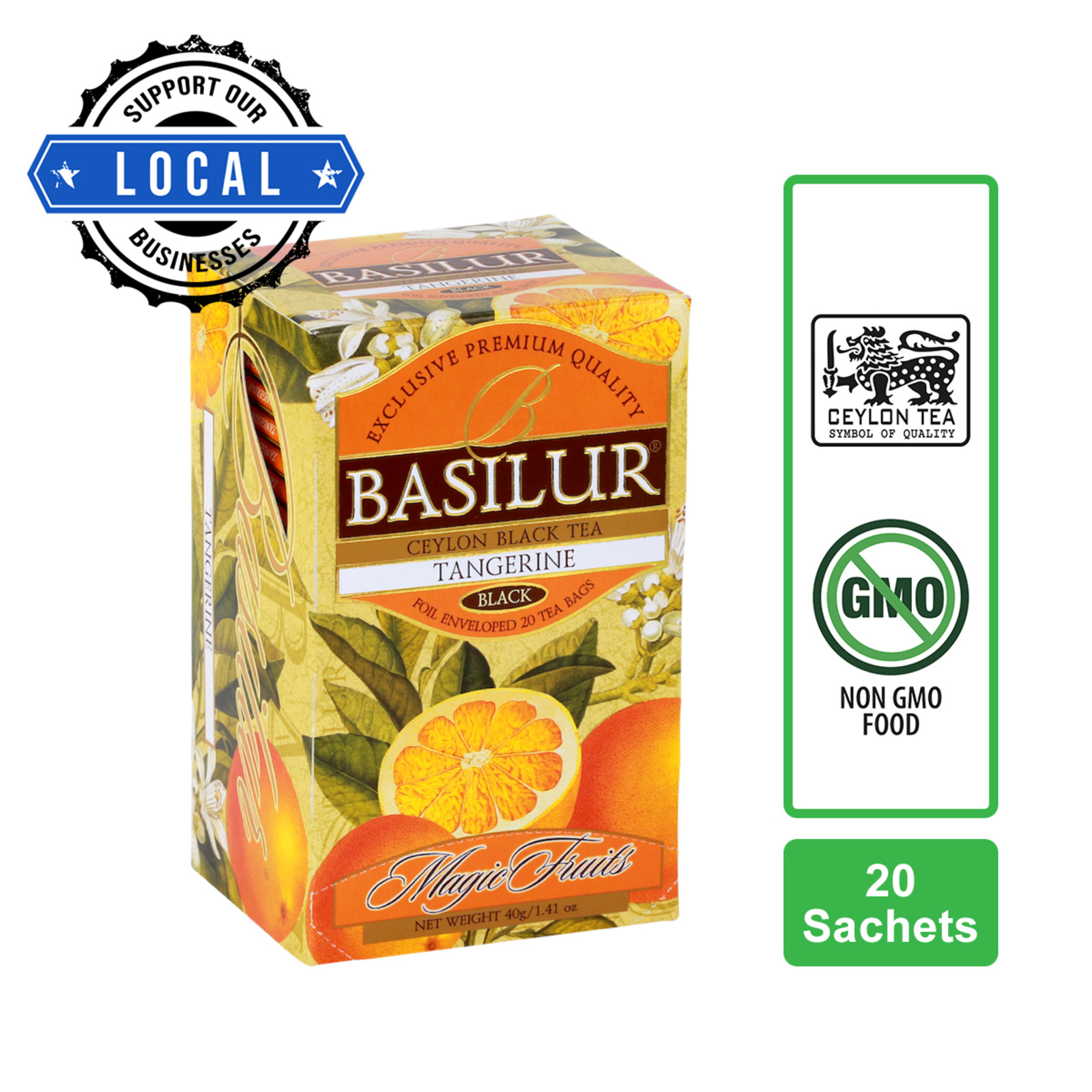 Basilur Tangerine Black Tea