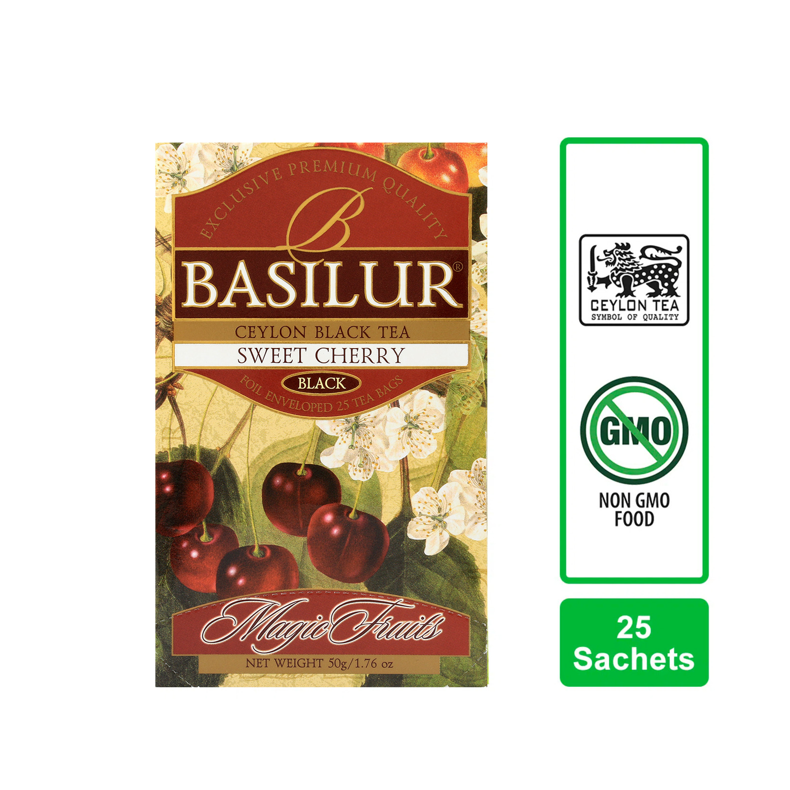 Basilur Sweet Cherry Black Tea