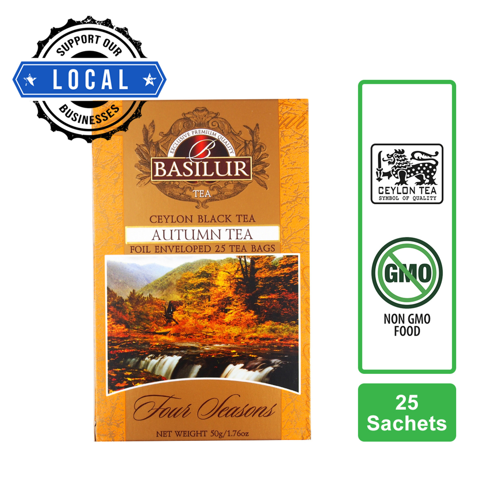 Basilur Autumn Maple Syrup Black Tea