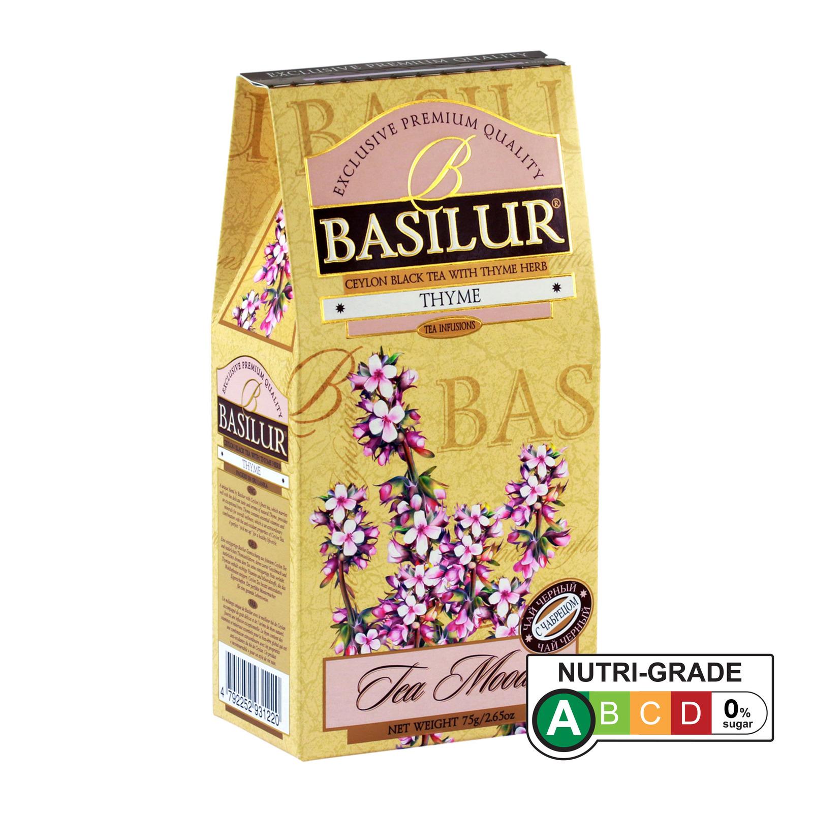 Basilur Thyme Black Tea