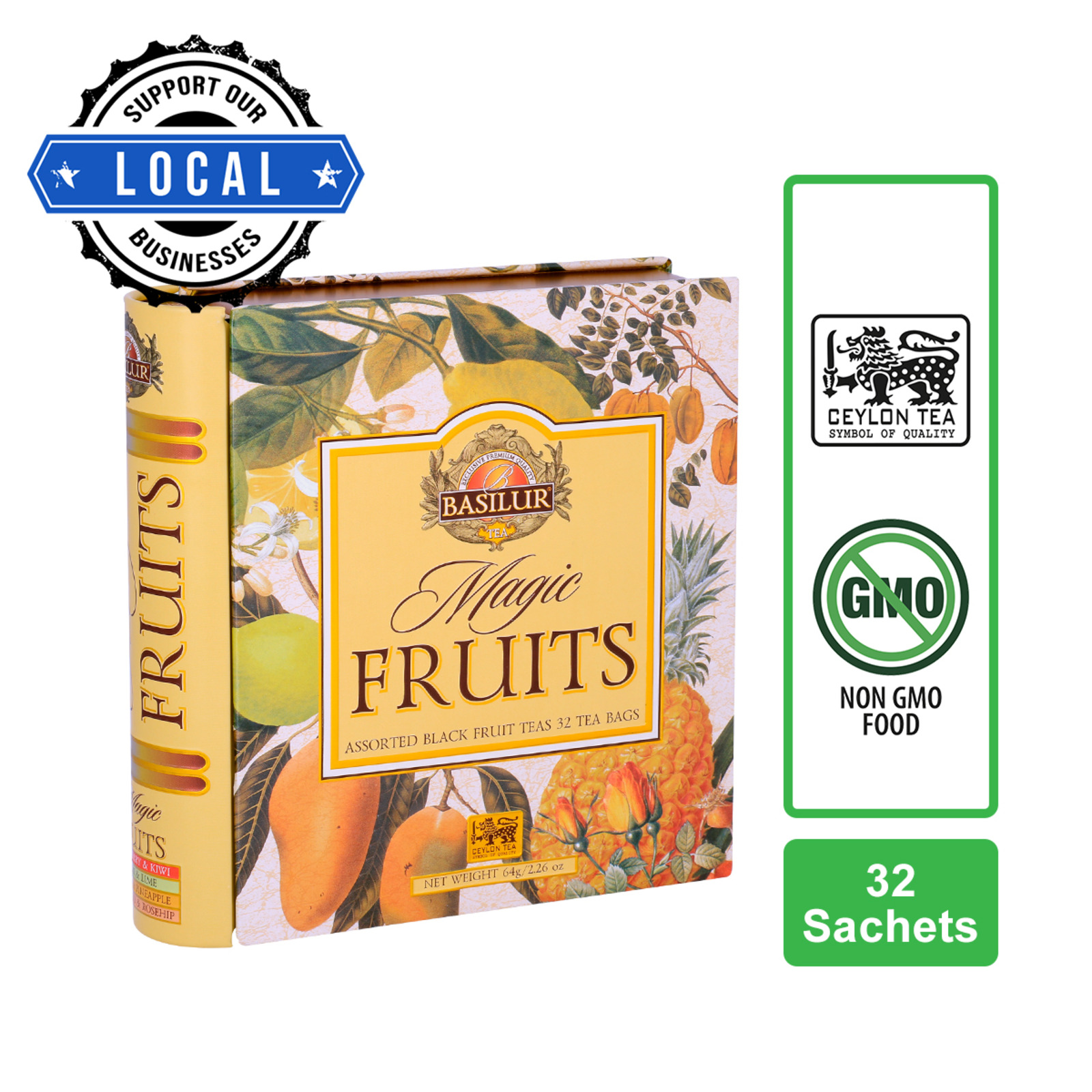 Basilur Assorted Book - Magic Fruits Black Tea