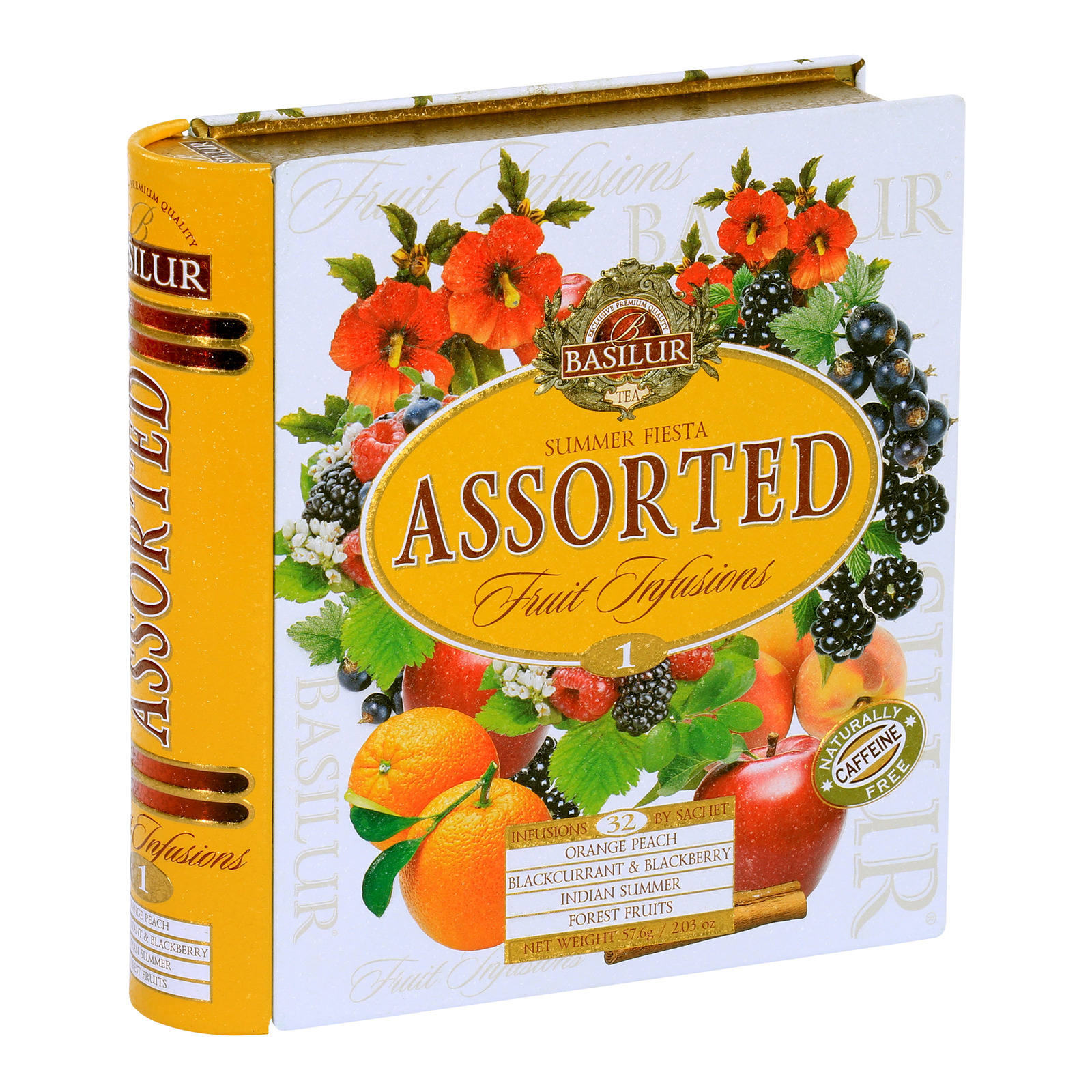 Basilur Assorted Book - Summer Fiesta Fruit Infusions
