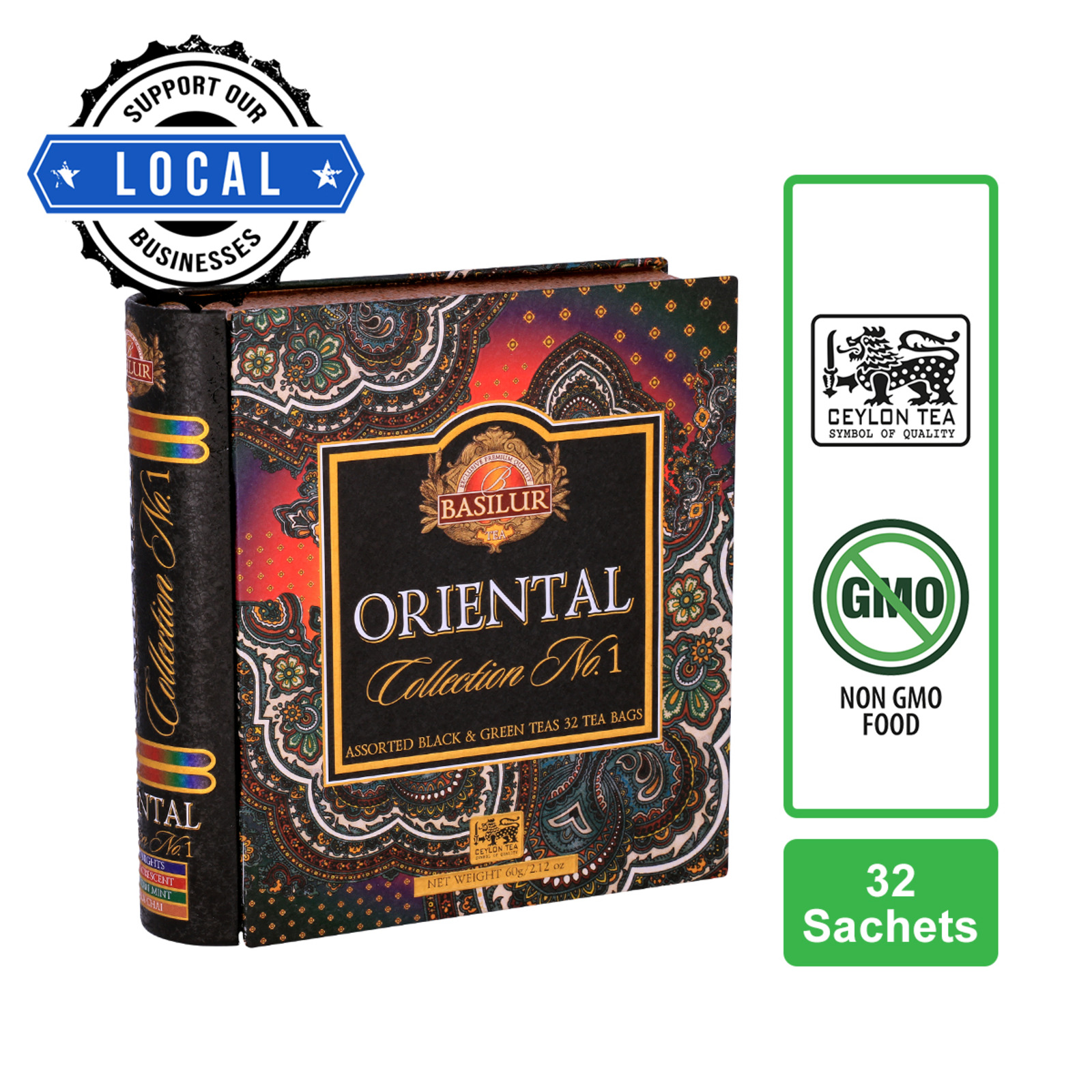 Basilur Assorted Book - Oriental Tea