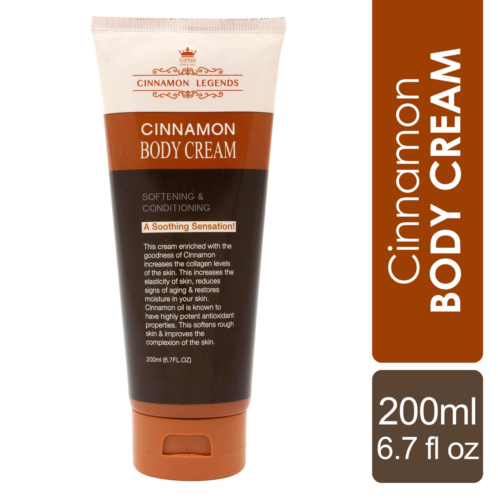 Cinnamon Legends Cinnamon Body Cream 200 ml / 6.7 fl oz