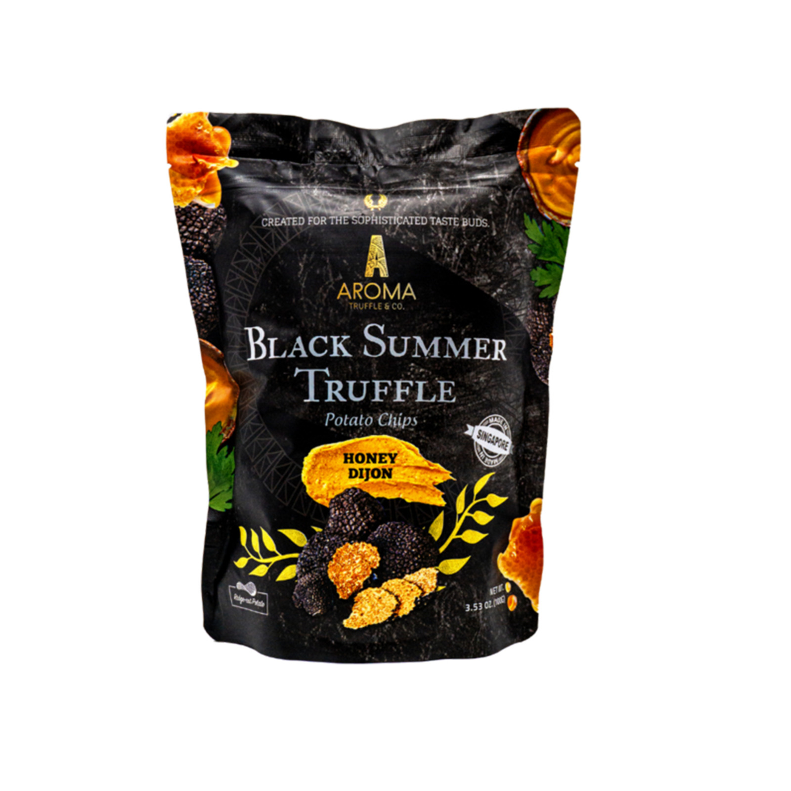 Aroma Black Summer Truffle Potato Chips - Honey Dijon