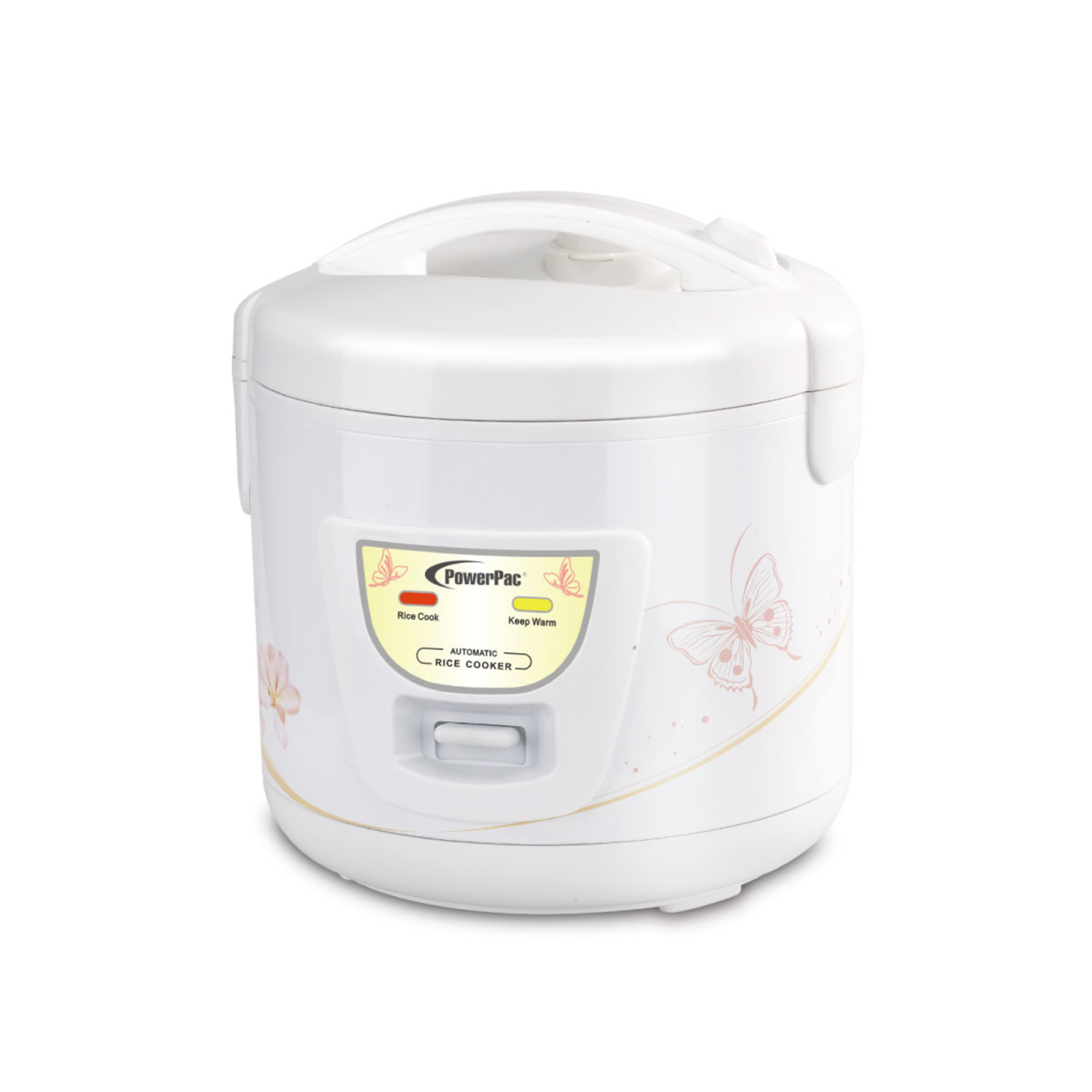 PowerPac 1.8L Rice Cooker With Steamer - PPRC18