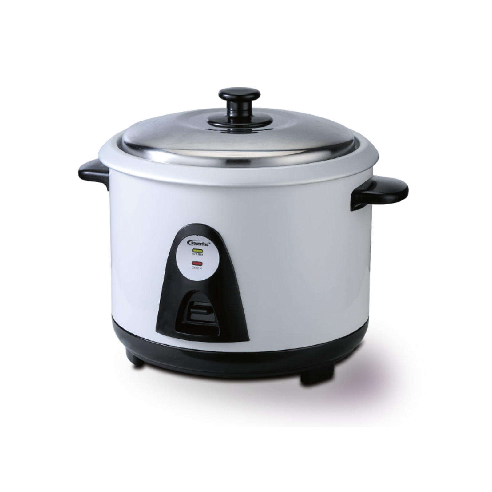 PowerPac 1.8L Rice Cooker With Steamer And Aluminium Inner Pot - PPRC8