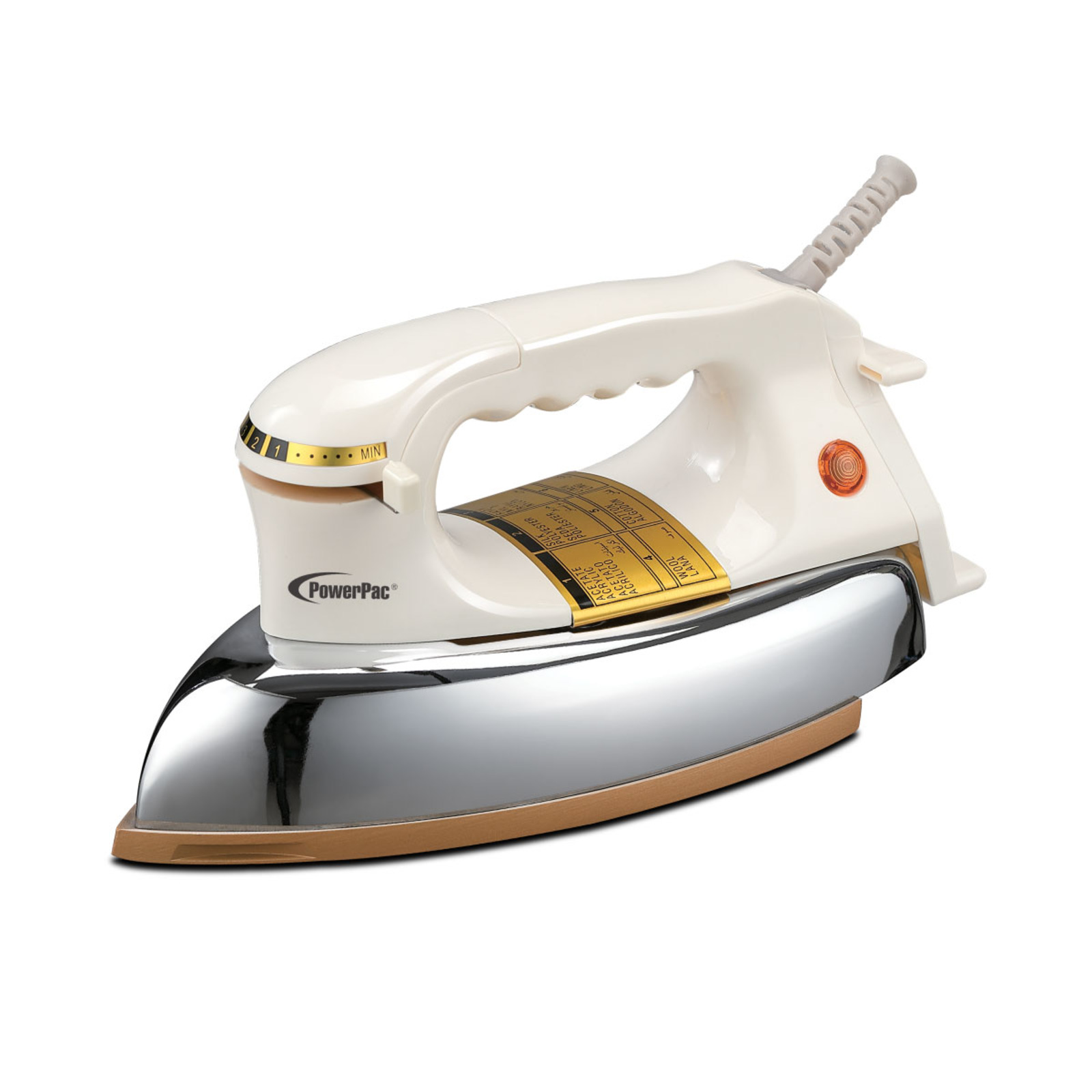 PowerPac 1.5KG Heavy Dry Iron 1200W PPIN1127