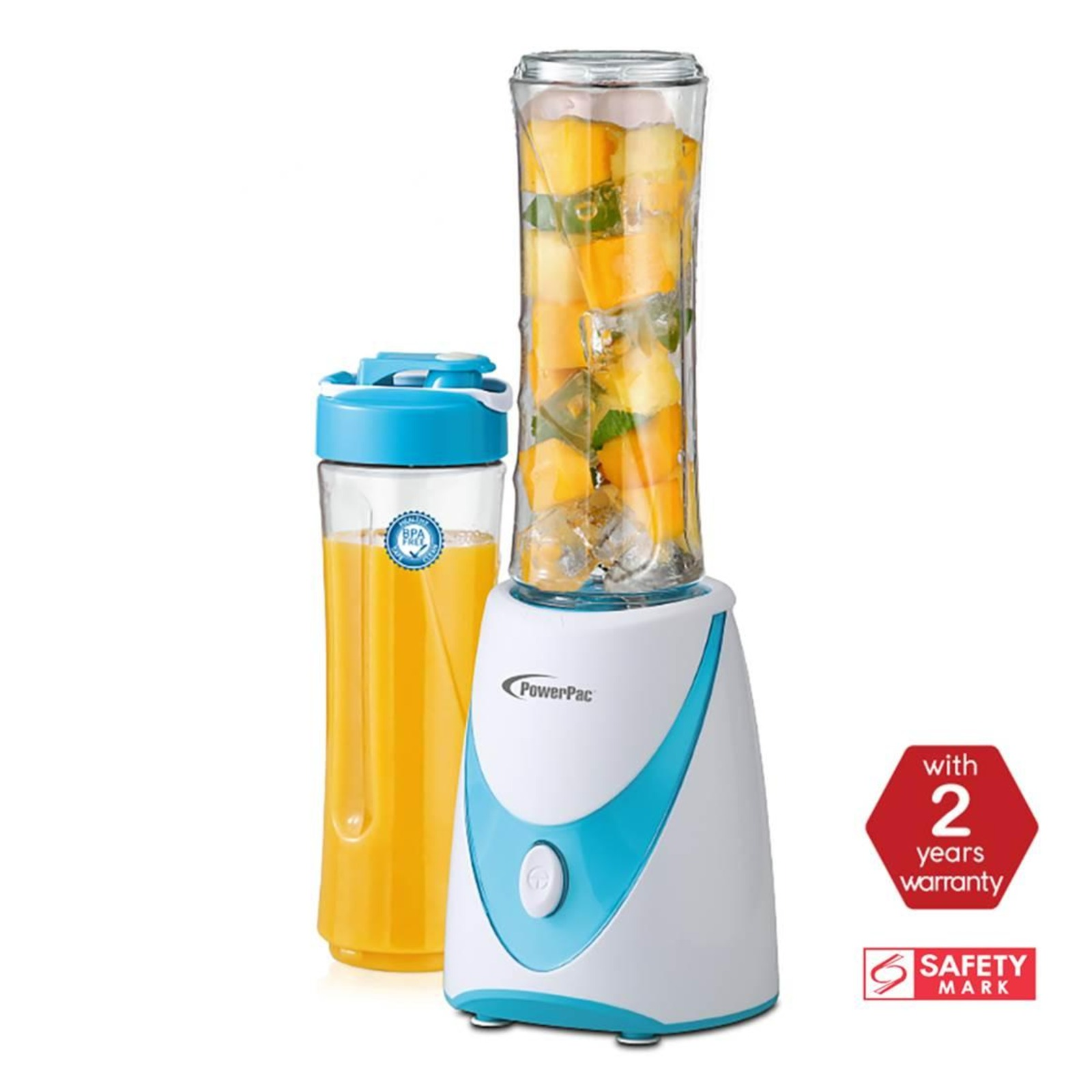 PowerPac Personal Juice Blender with 2X BPA Free Jugs PPBL500