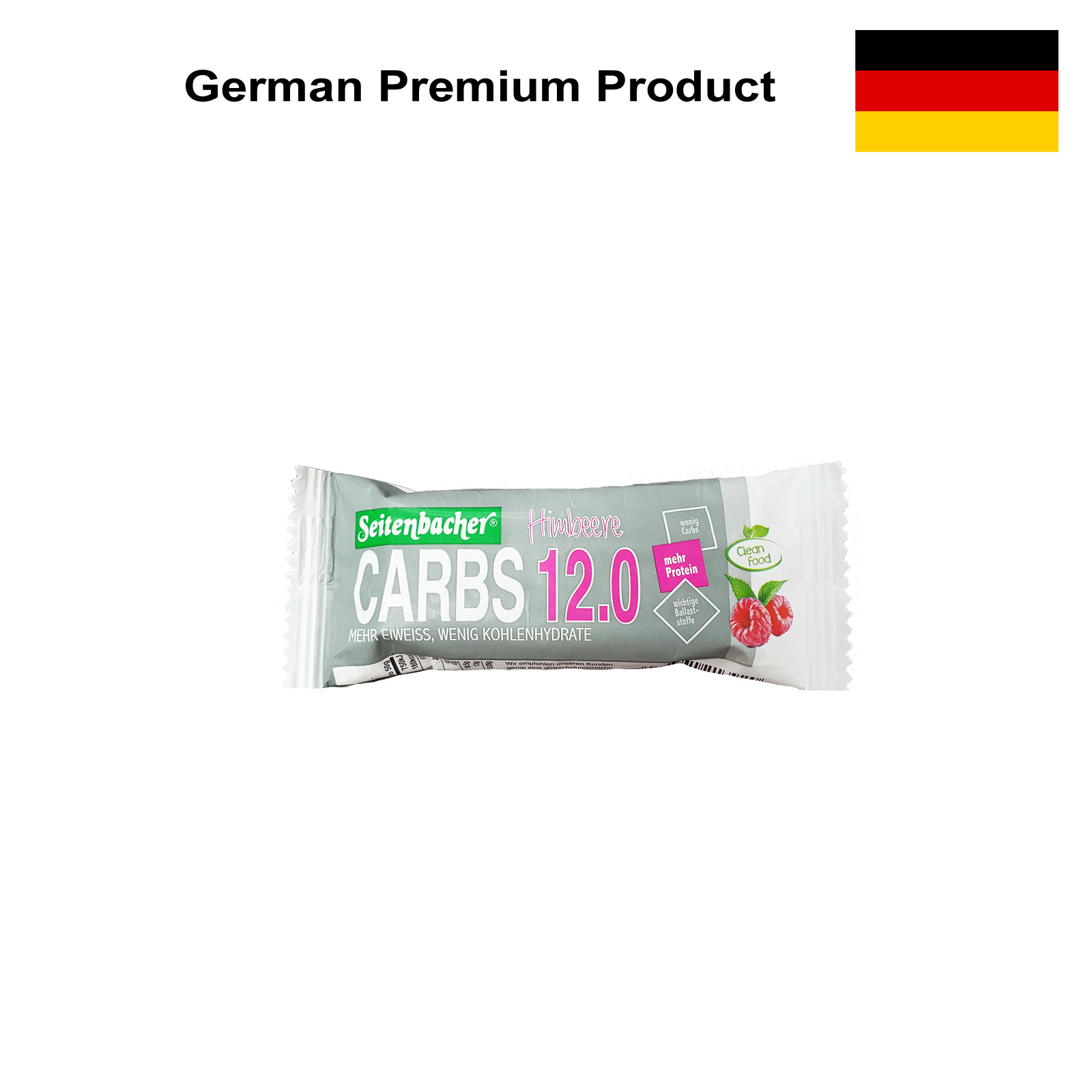 Seitenbacher Carbs 12.0 - Raspberry Energy Bar