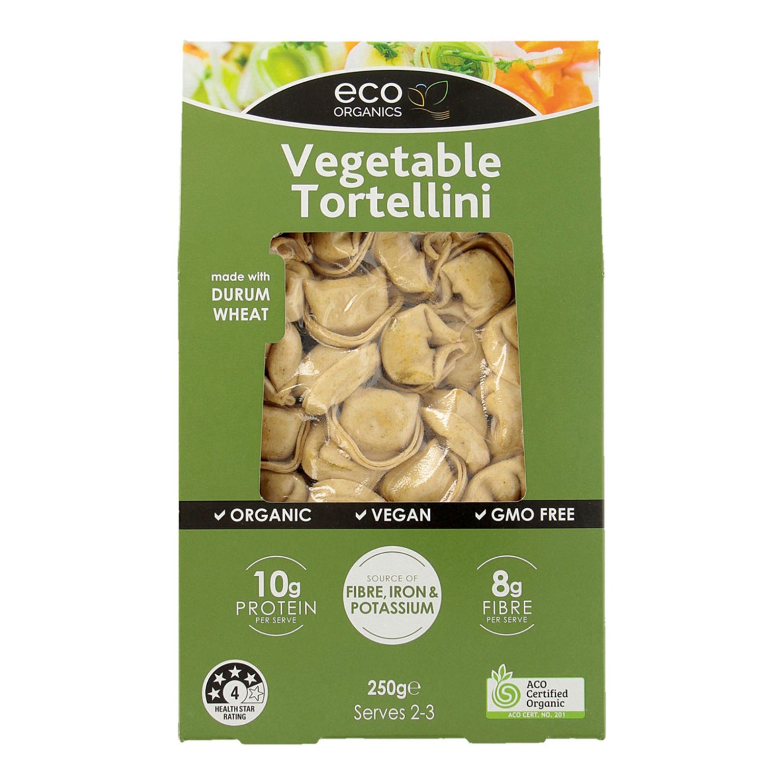 Eco Organics Pasta Vegetable Tortellini