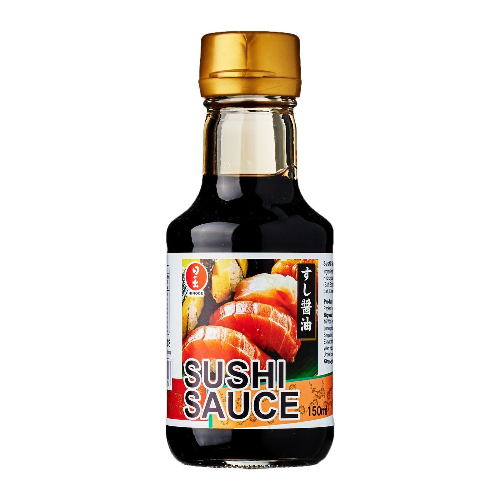 Hinode Halal Sushi Shoyu Sauce 150Ml - Kirei